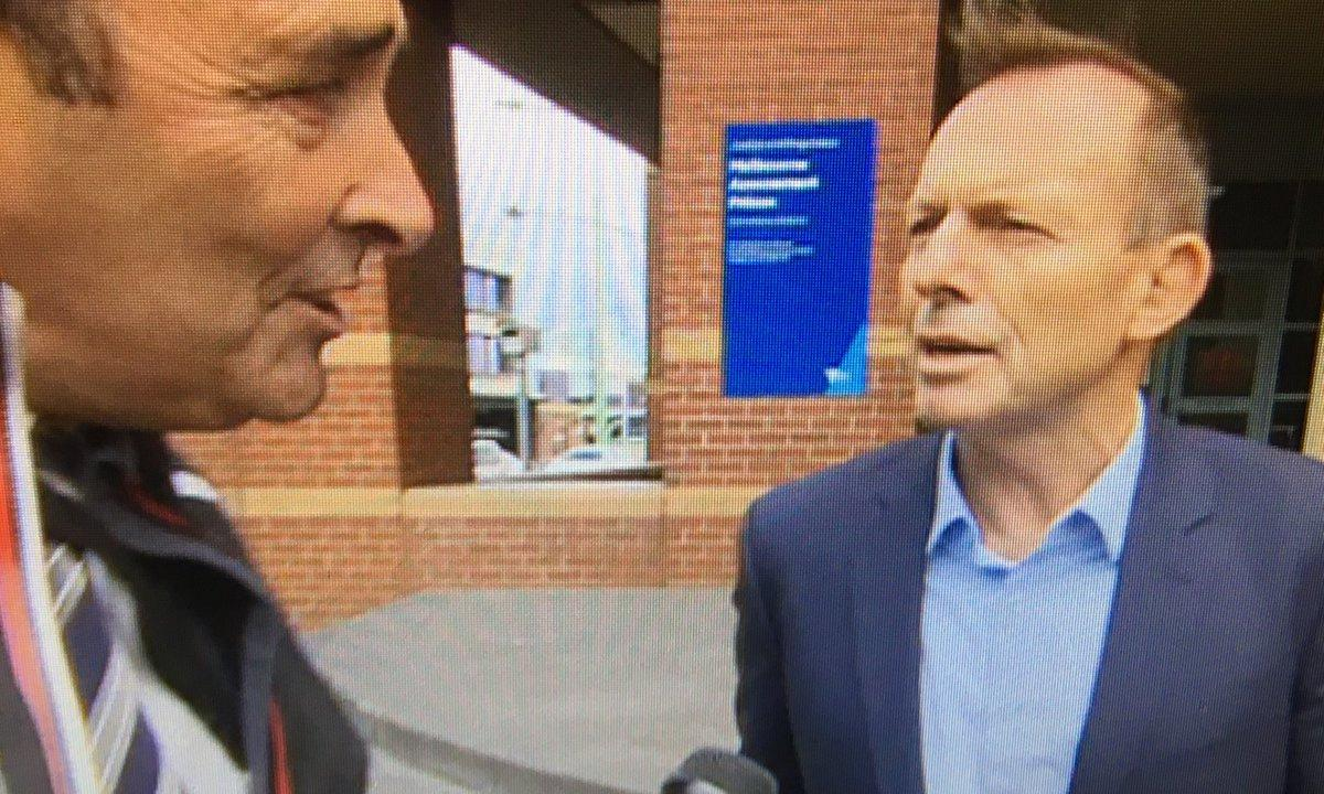 Tony Abbott filmed leaving the prison where Cardinal George Pell is being held
