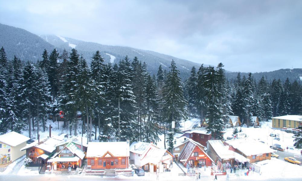 Borovets ski resort.