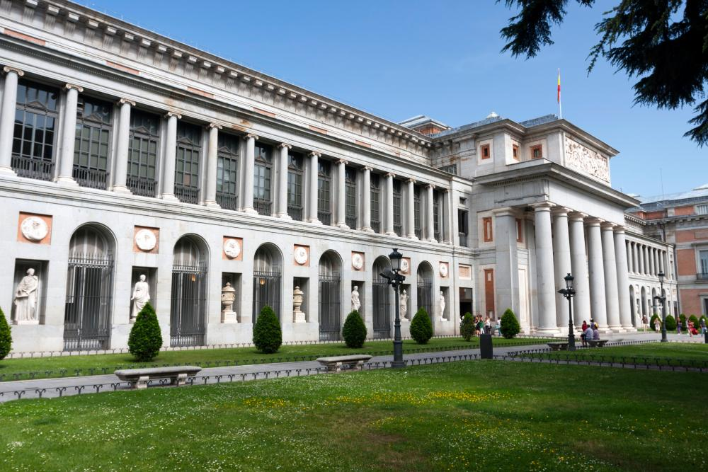 The Museo del Prado, Madrid, Spain.