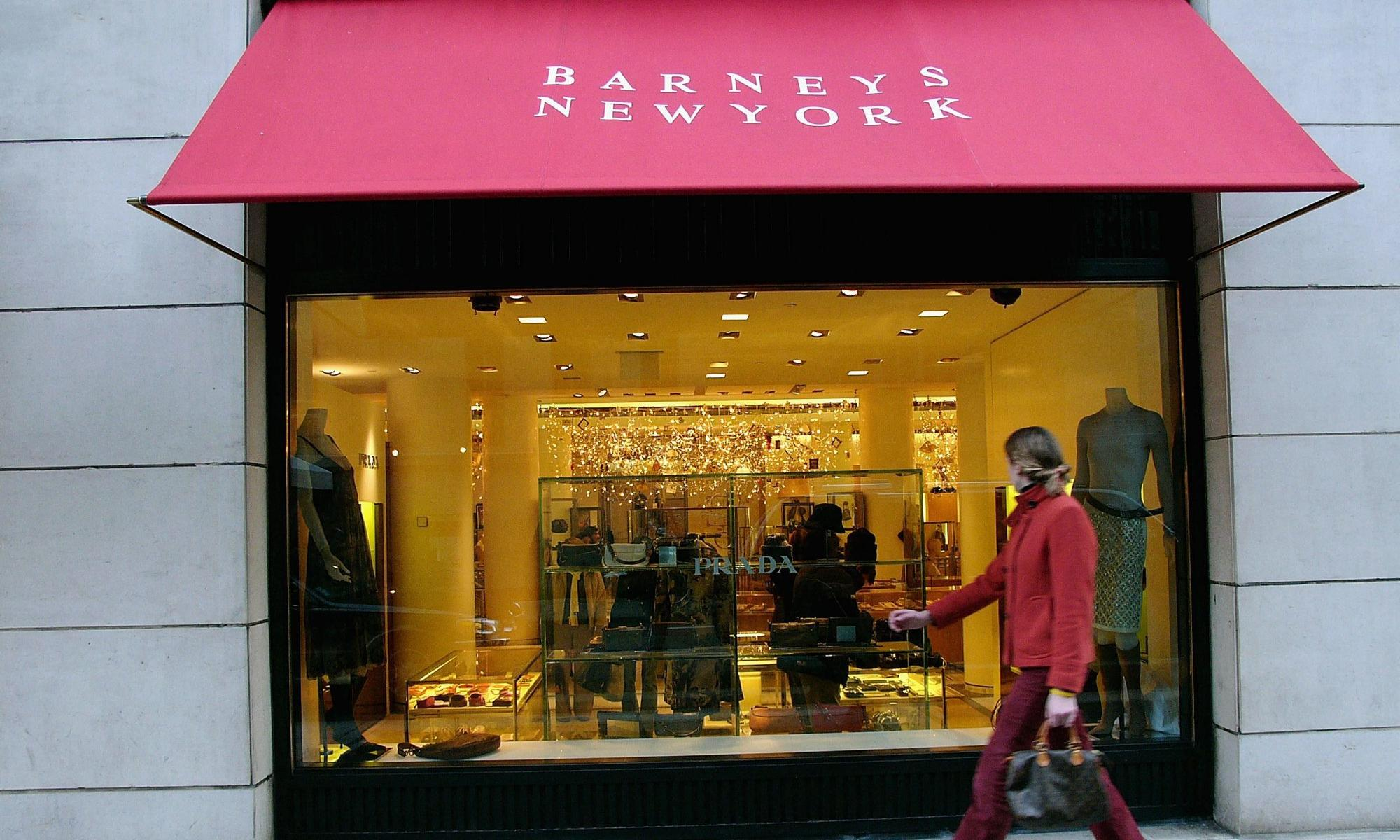 Barneys the latest dinosaur of retail sector to explore bankruptcy