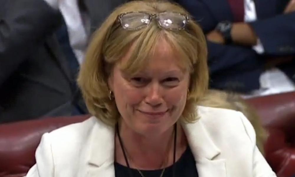 Angela Smith, the Labour leader in the House of Lords.
