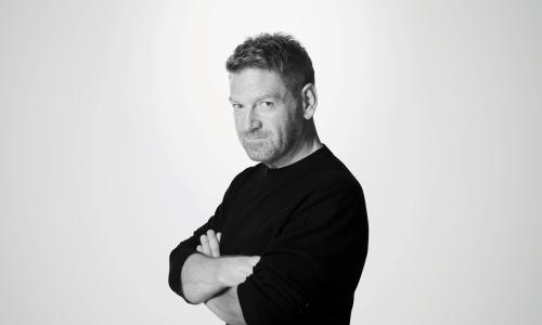 Kenneth Branagh - black & white. The Entertainer