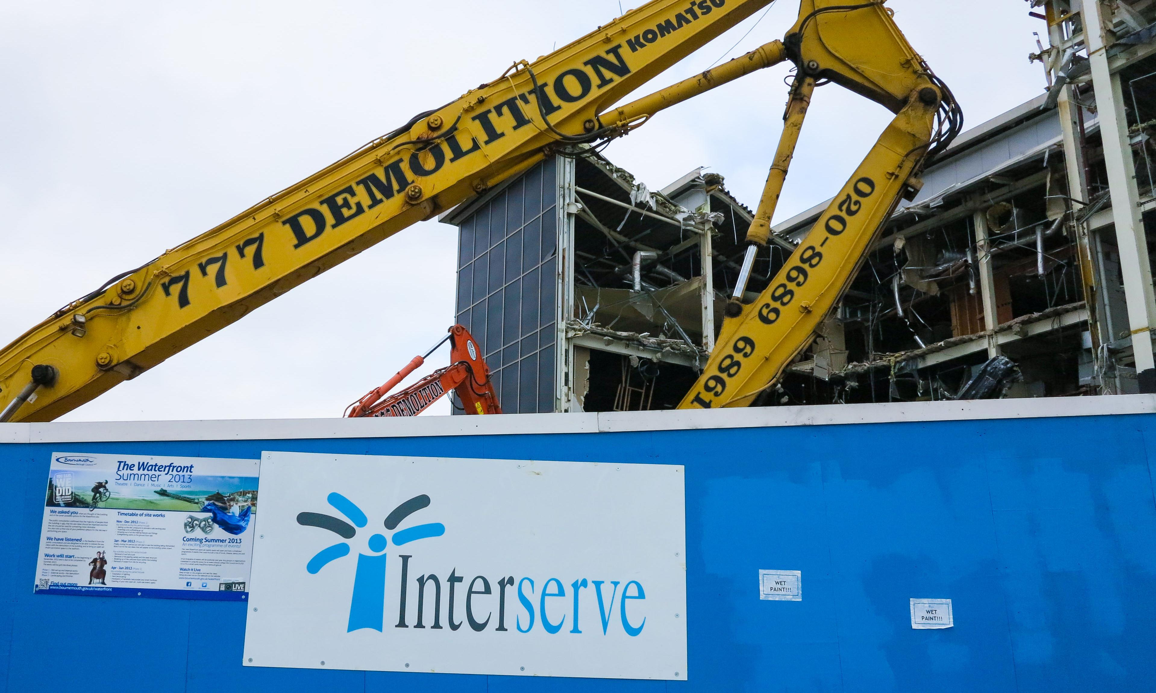 Interserve fights to keep contracts as rivals circle