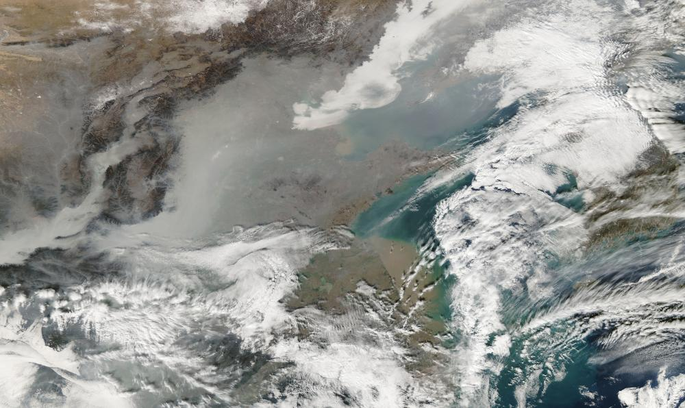 Smog in north China