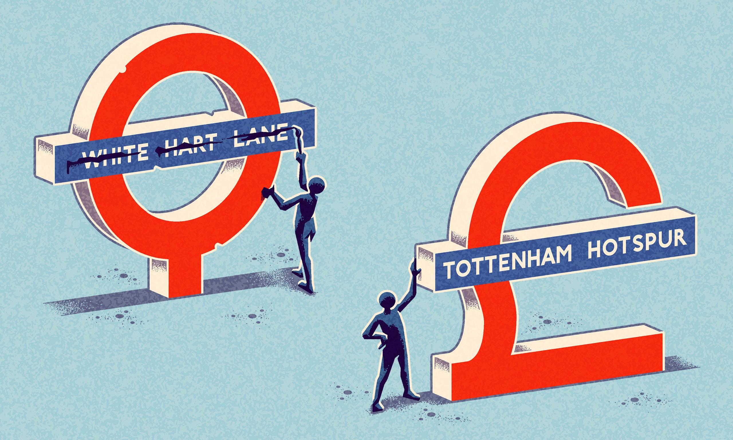 Tottenham Hotspur station? Some hate it, but branding the railways is nothing new