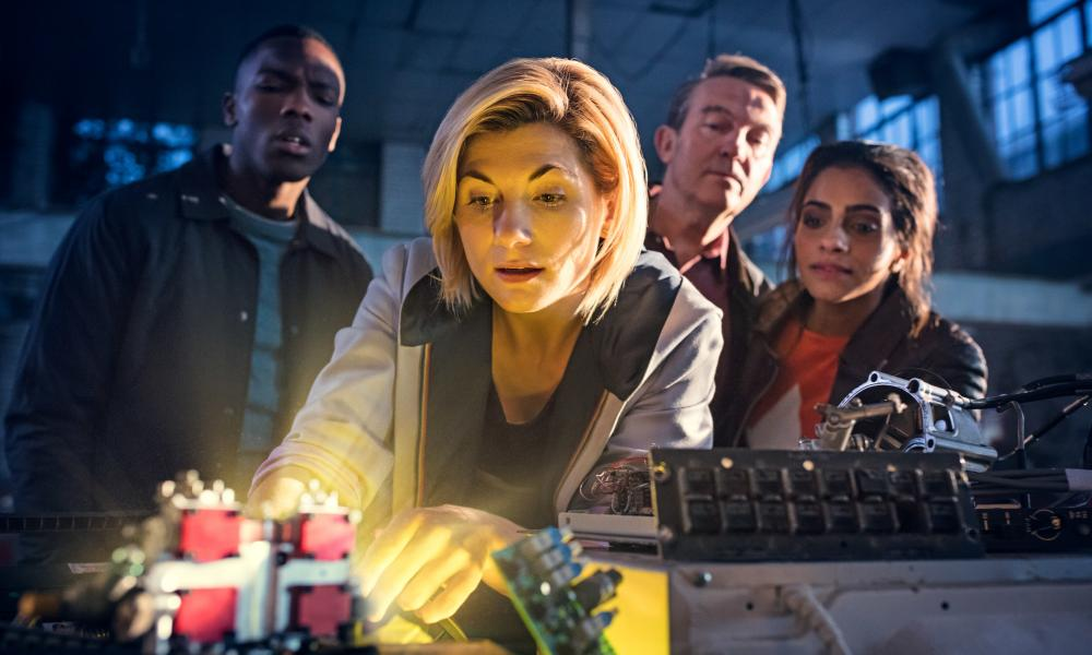Television history was made when Doctor Who's lead character was taken over by Whittaker, the first woman to play the role since it began 55 years ago.