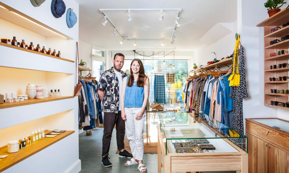 'We always wanted our shop to be welcoming and inspiring': Mark and Ella at Our Daily Edit.