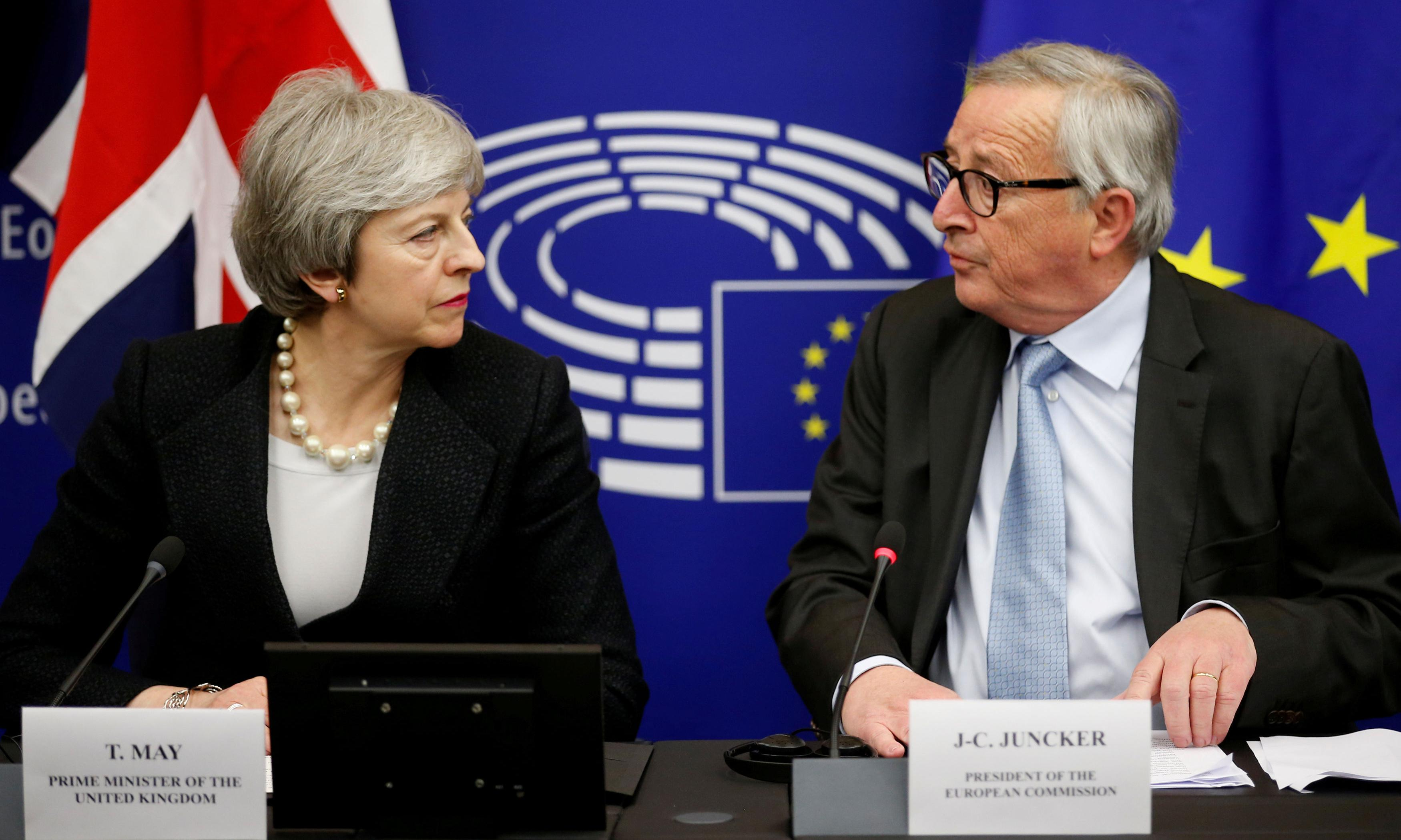The prime minister got one thing right: we can't blame the EU for this