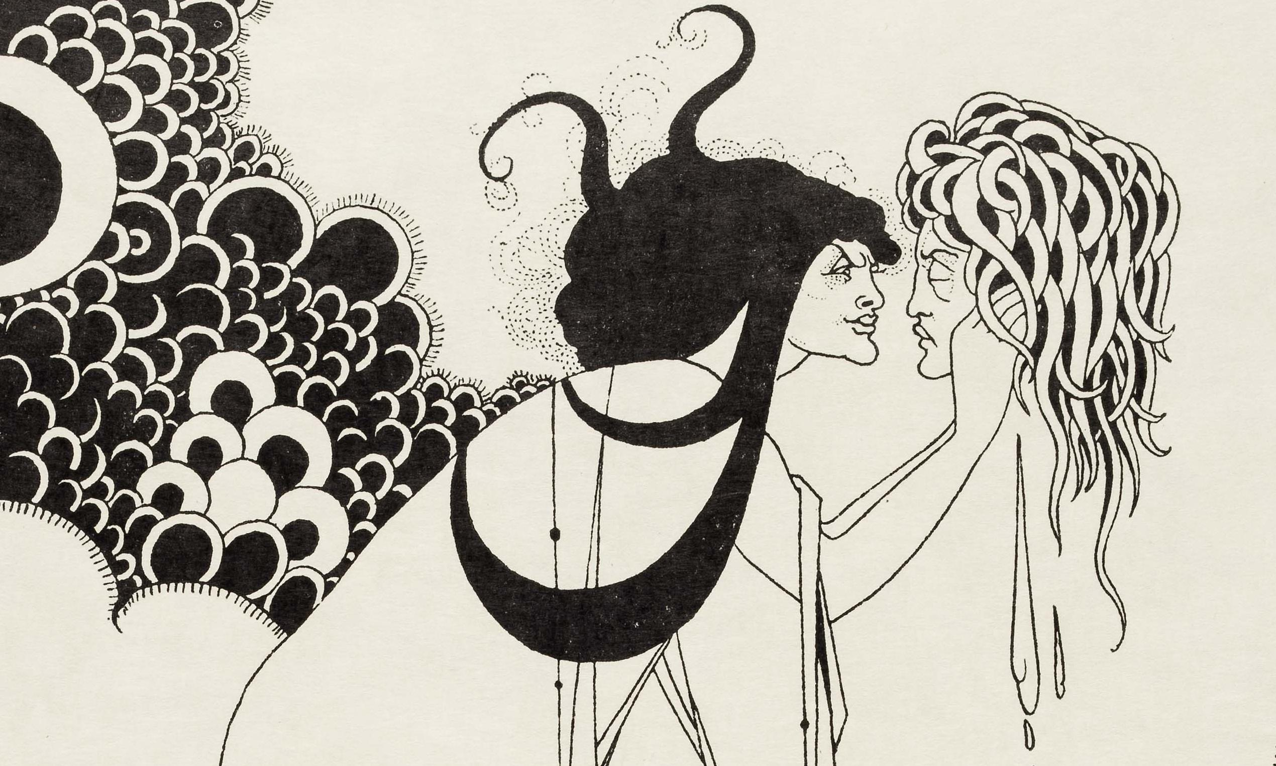 Too filthy to print – Aubrey Beardsley and his explosions of obscenity