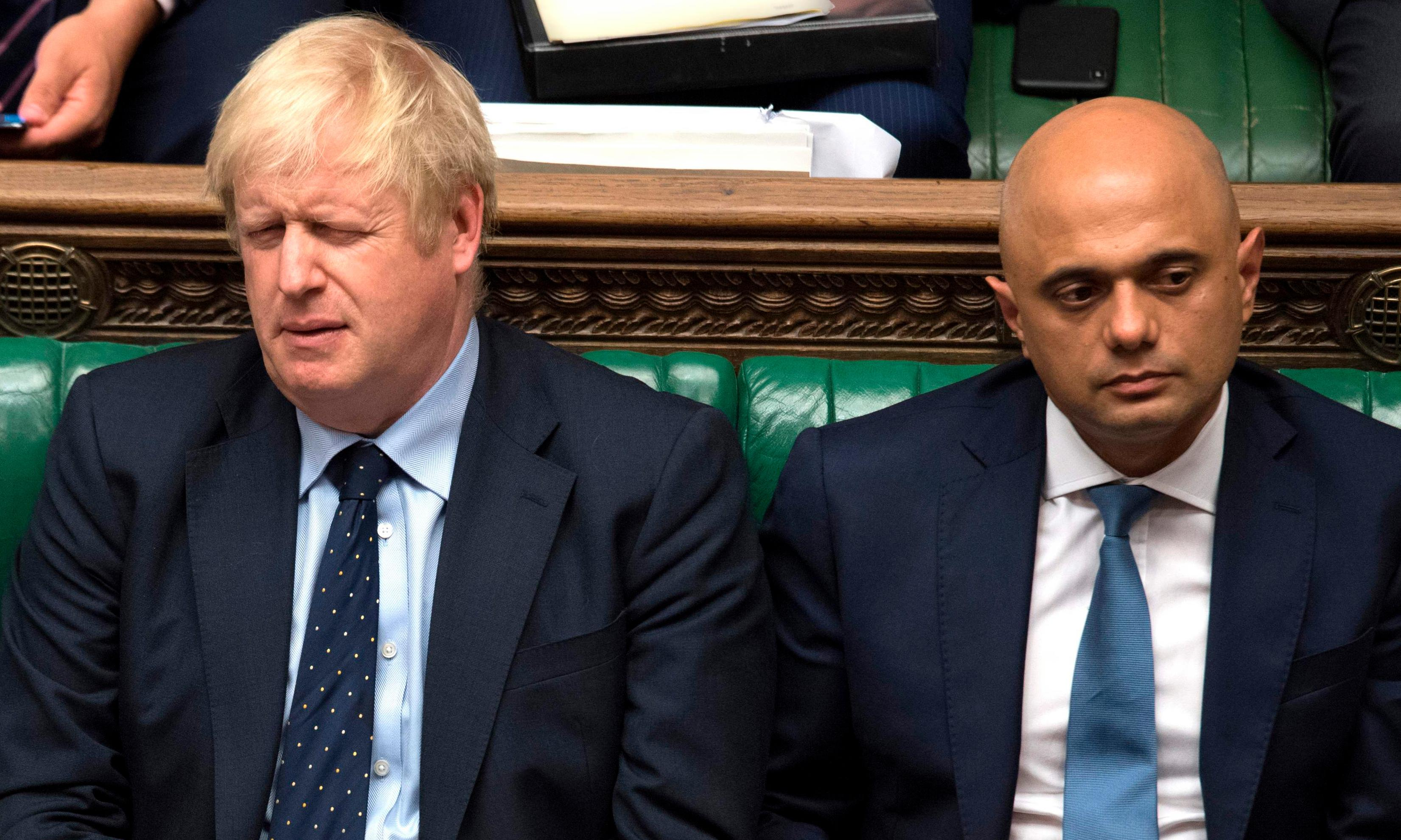 'It has got worse': Boris Johnson 'hamstrung' by rift with Sajid Javid