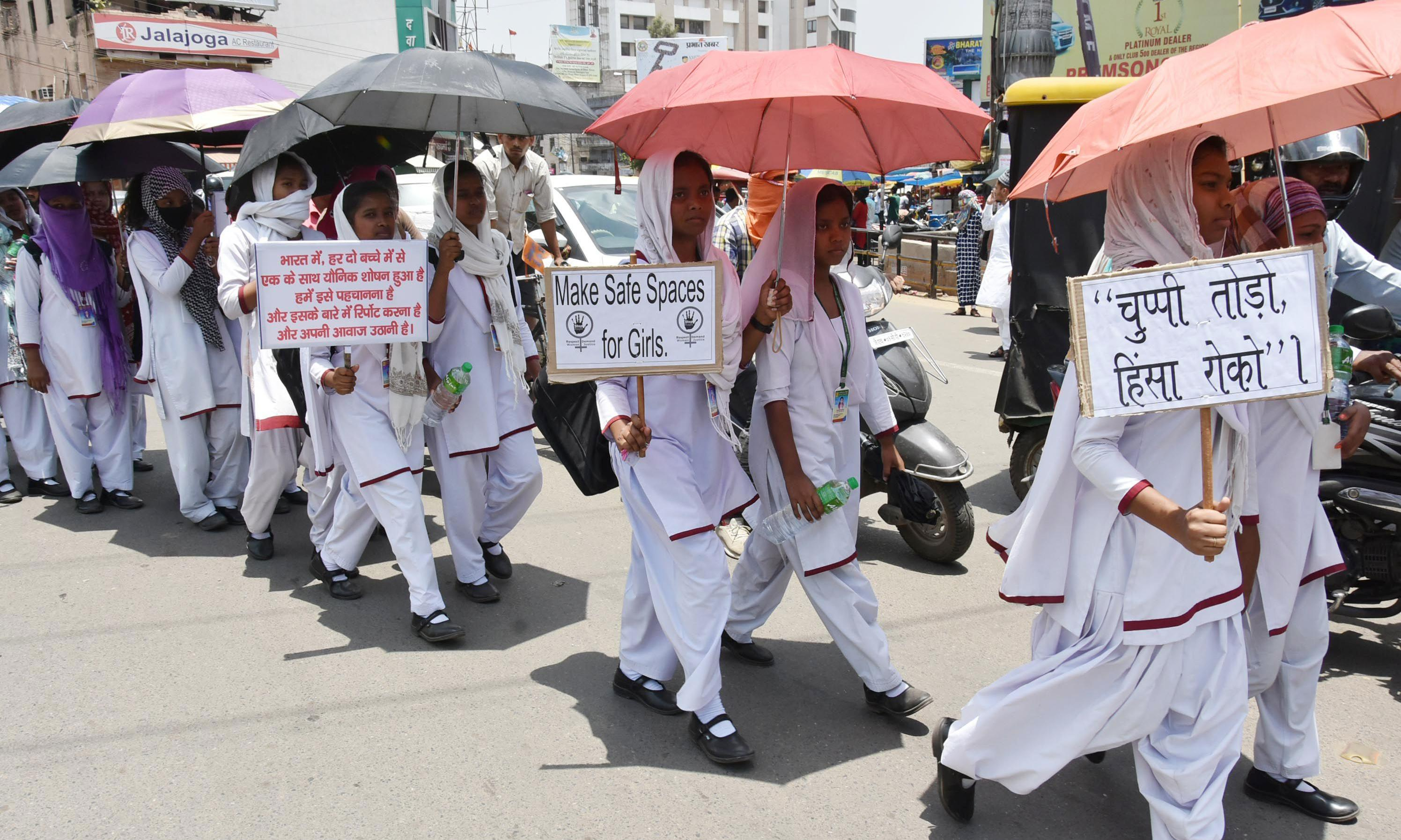 Third teenage girl is raped and burned alive in India in one week