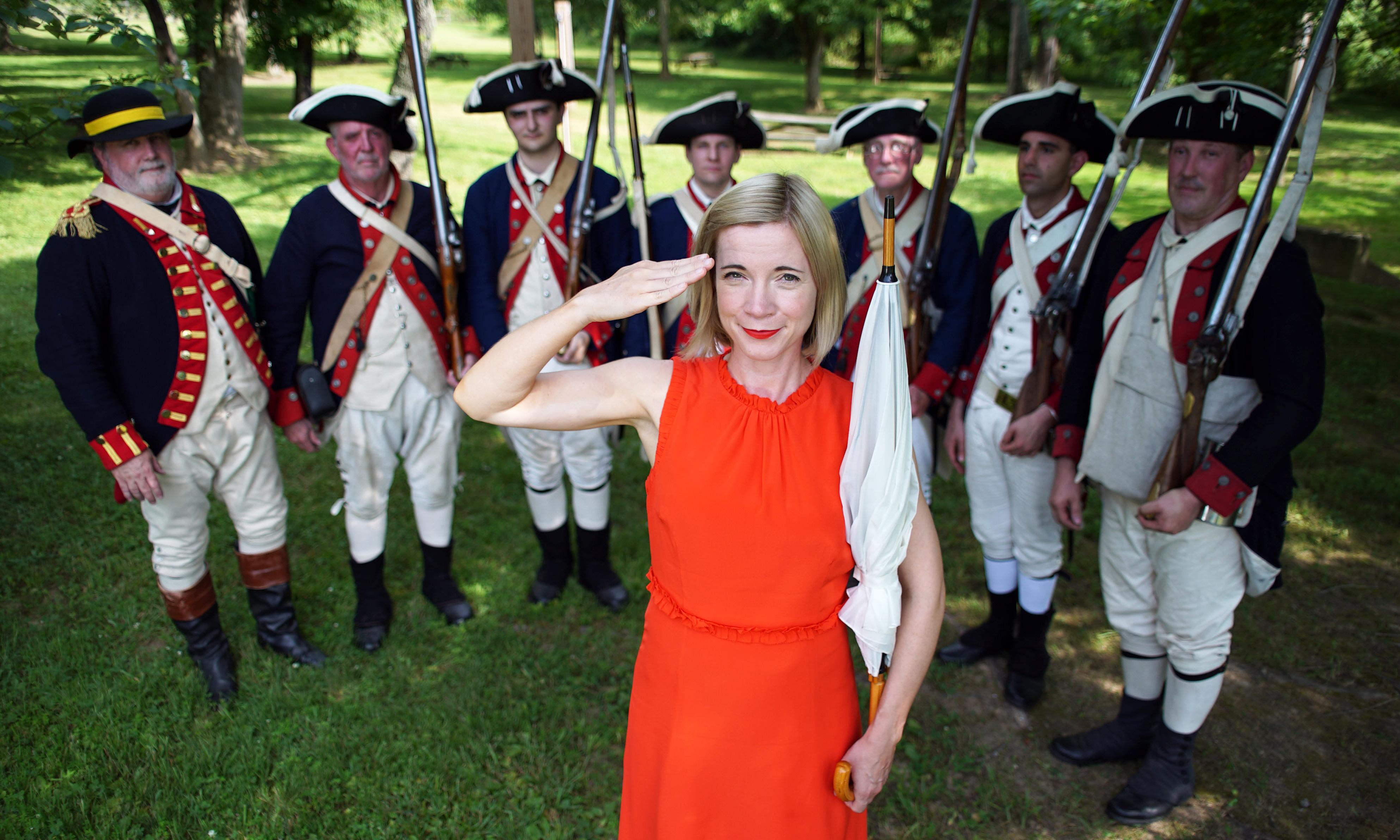 American History's Biggest Fibs review — Trump would put Lucy Worsley up against the wall