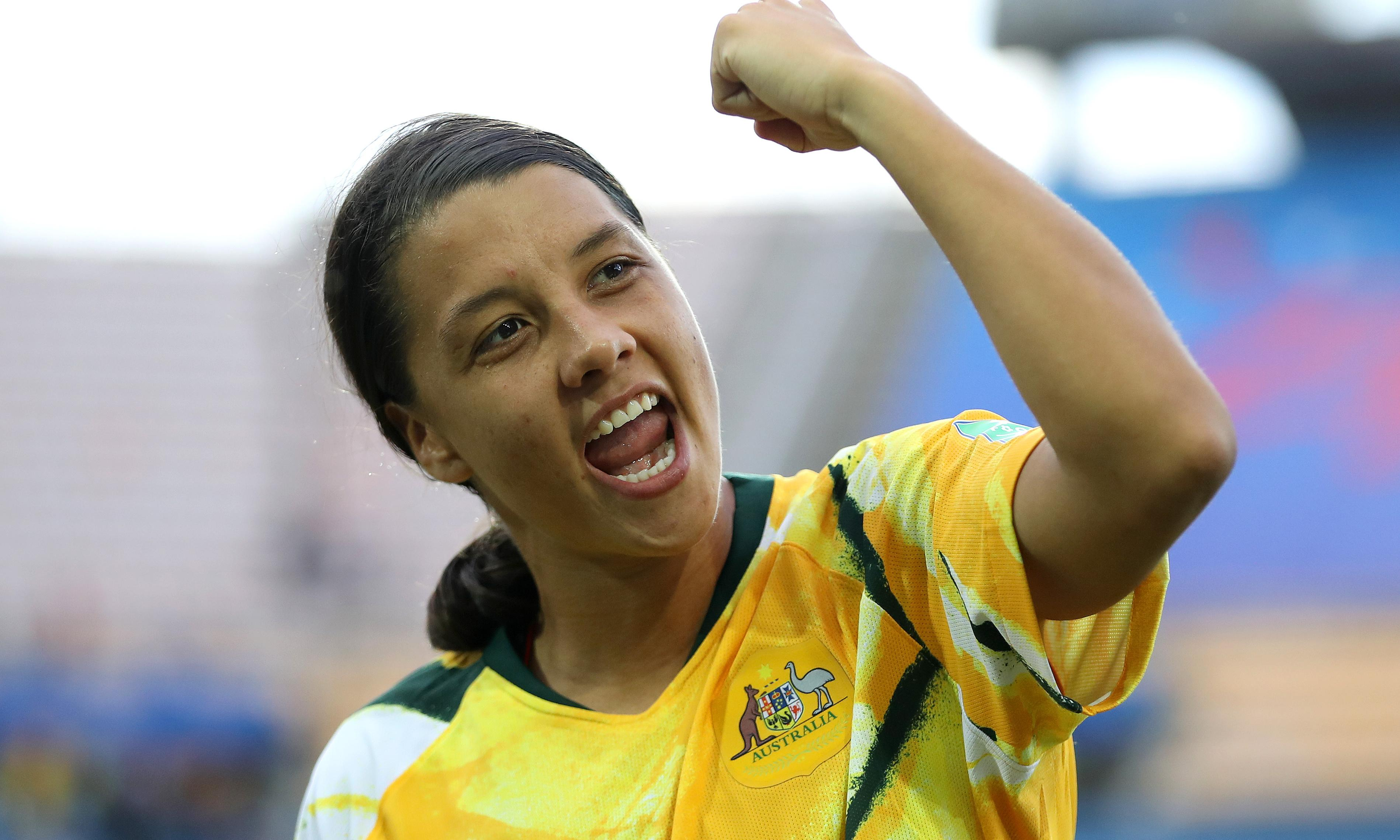 Matildas captain Sam Kerr again in hunt for women's Ballon d'Or