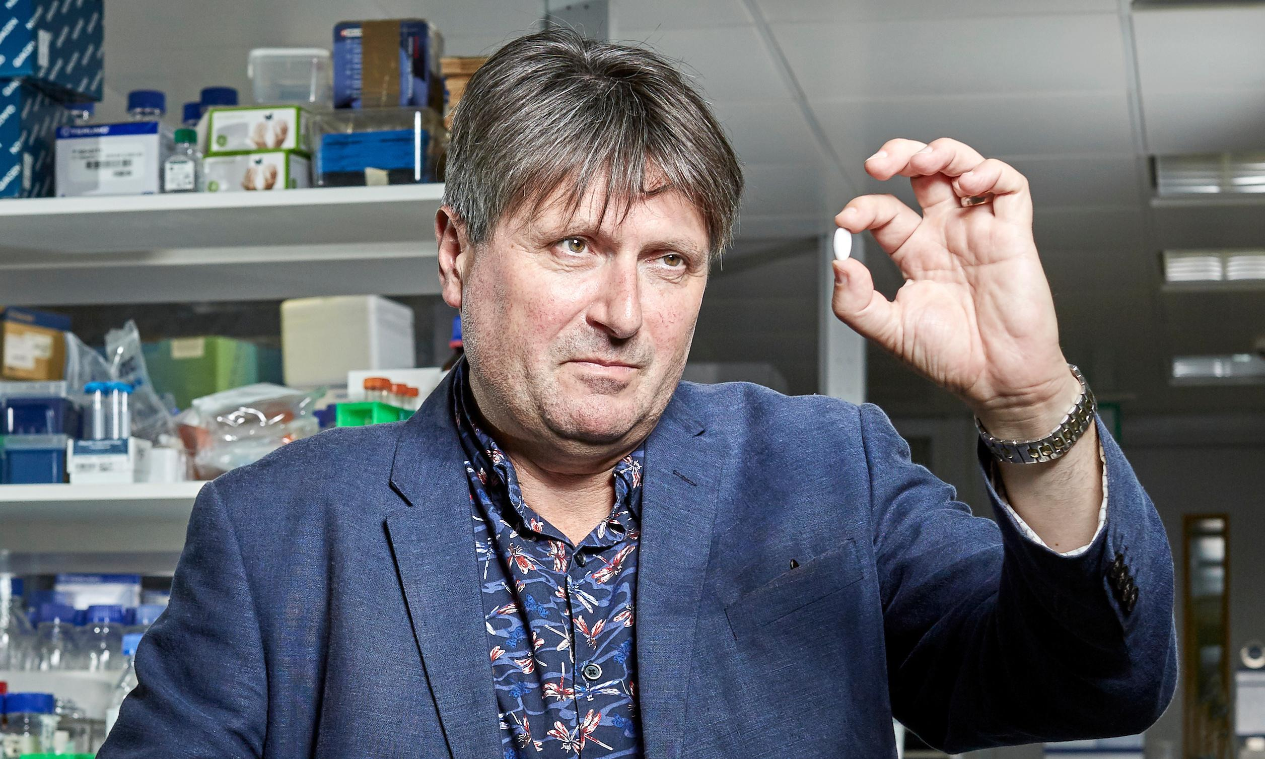 Taking a stanza: Simon Armitage cancer poem engraved on a pill