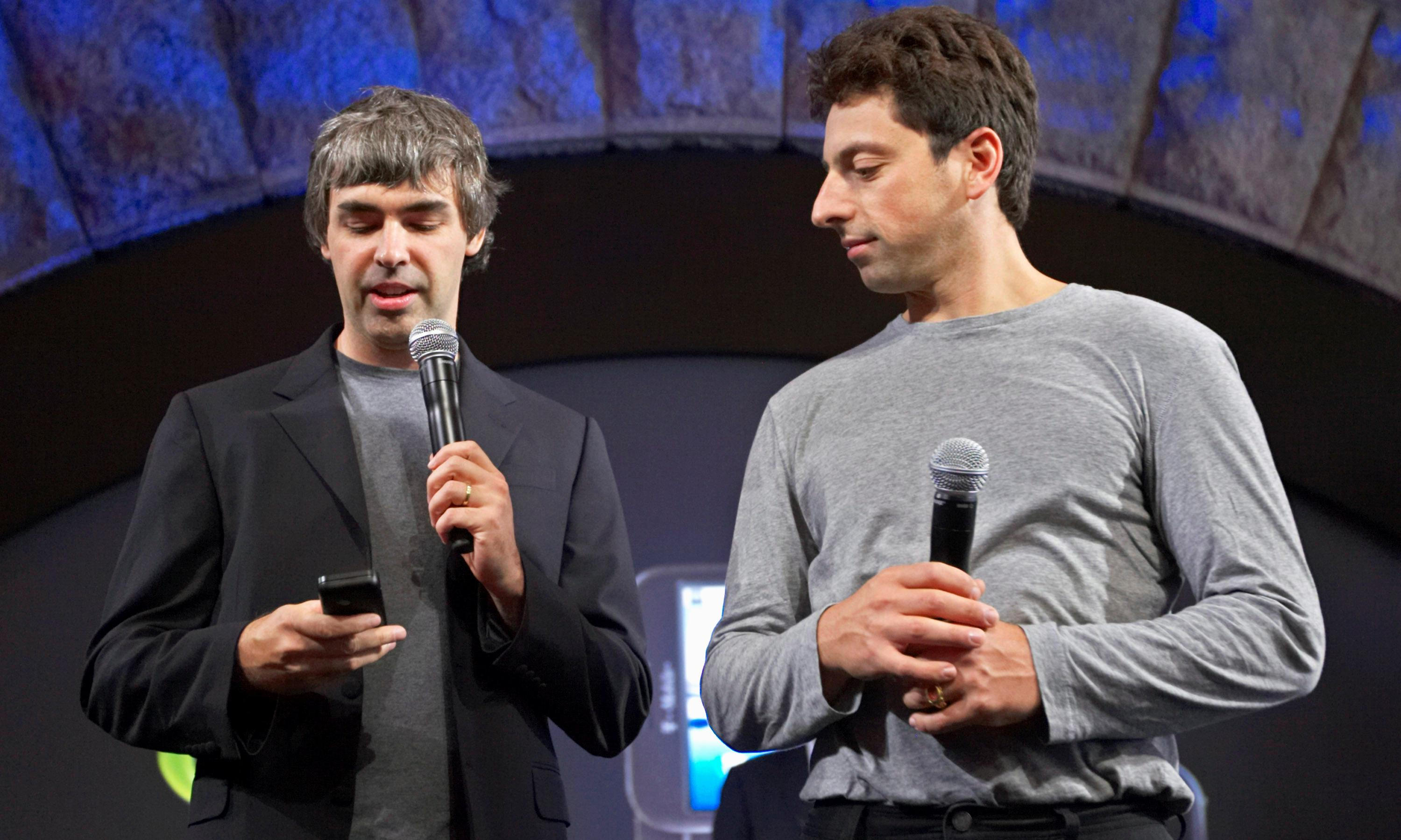 End of an era as Google founders step down from parent company