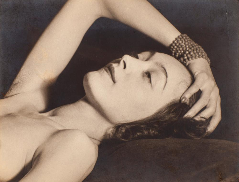 Nusch Éluard by Man Ray.