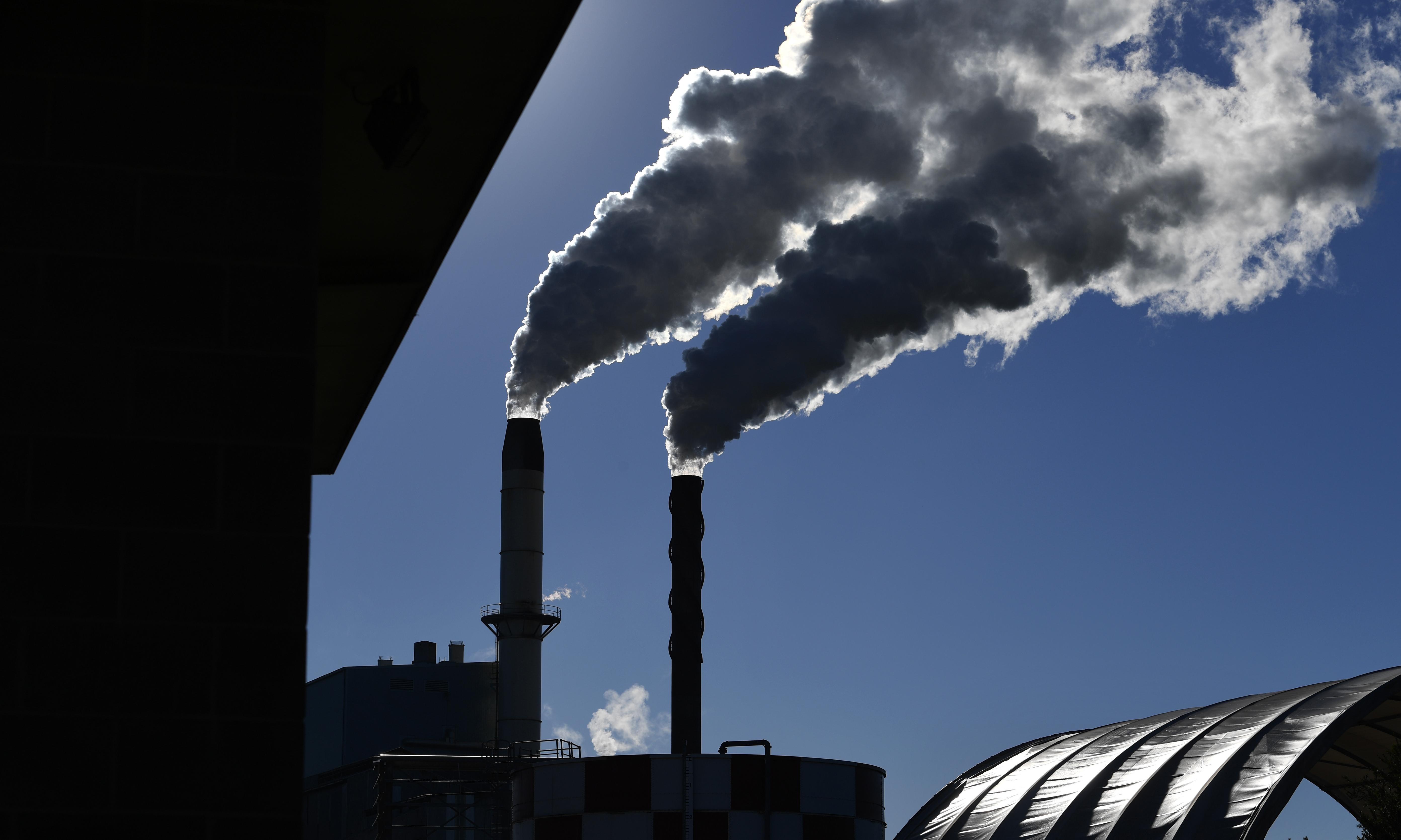 Coalition's climate policy has allowed heavy industry to increase emissions by nearly a third