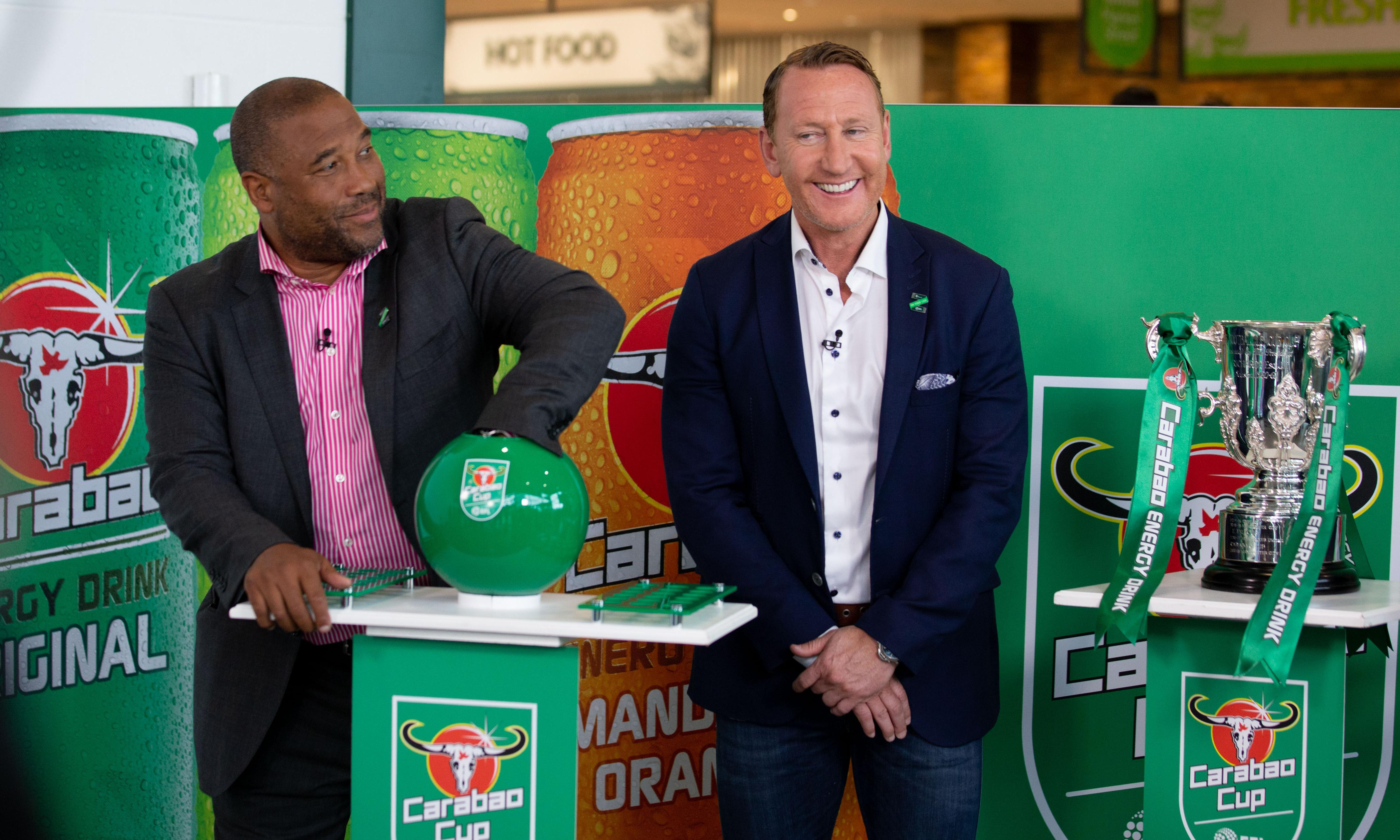 Carabao Cup draw proves to be an unexpected item in bagging area