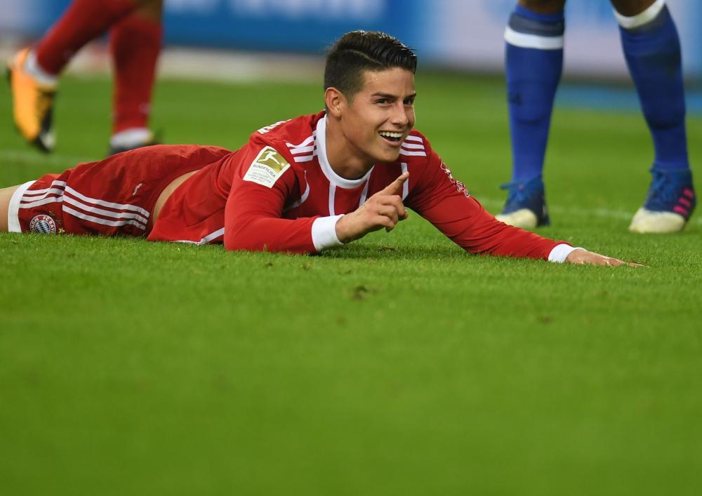 Rodríguez flat out during the match.