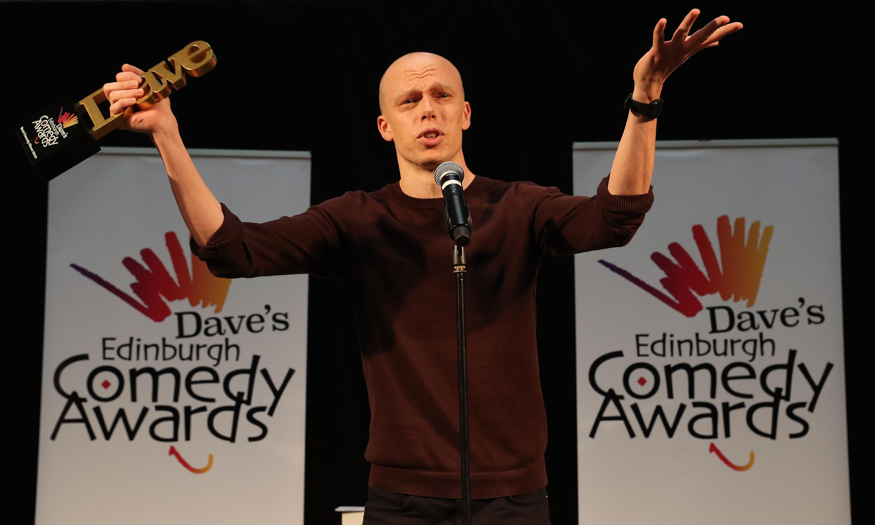From call centre worker … to top comedian on the Edinburgh fringe
