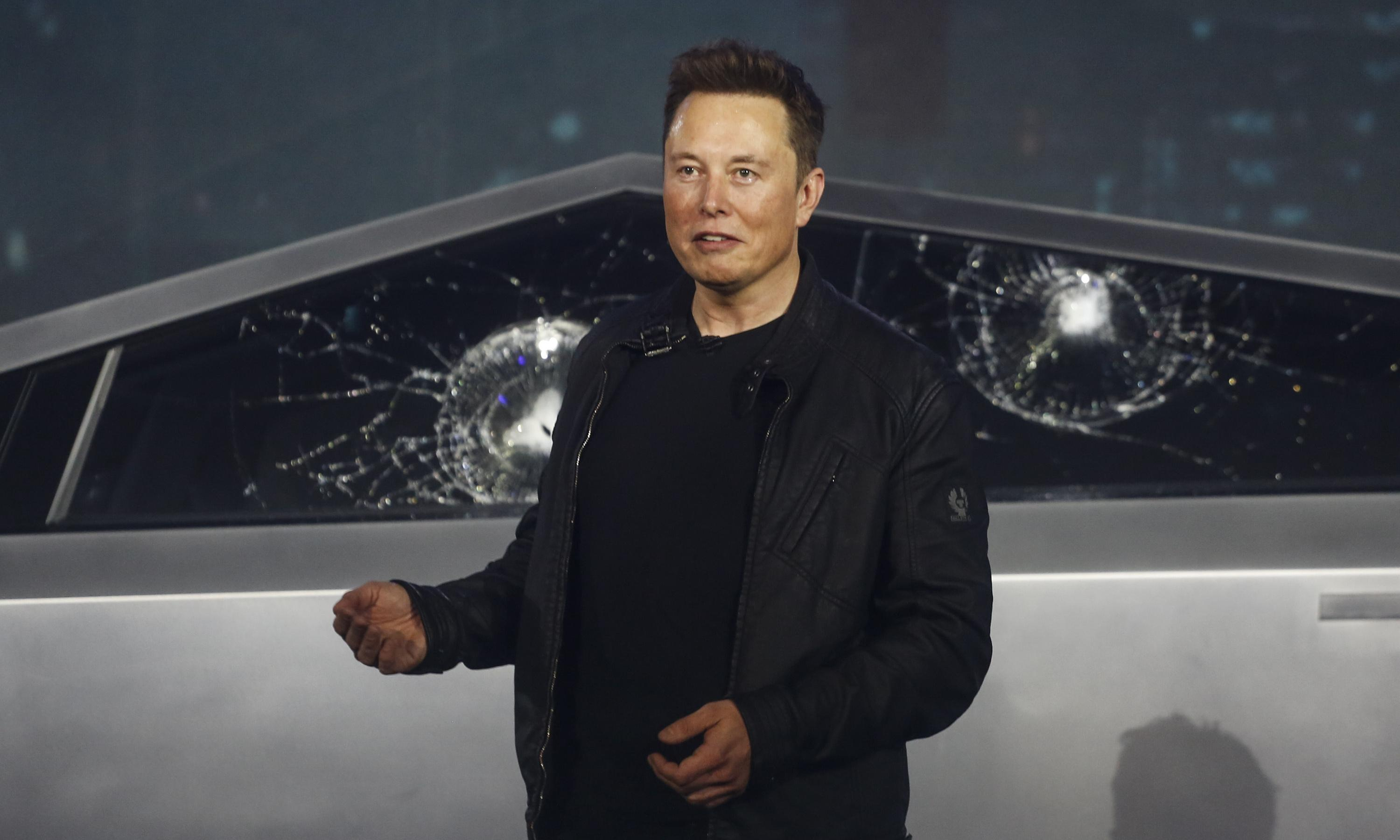 Elon Musk's net worth plunges $768m in a day after cybertruck fiasco