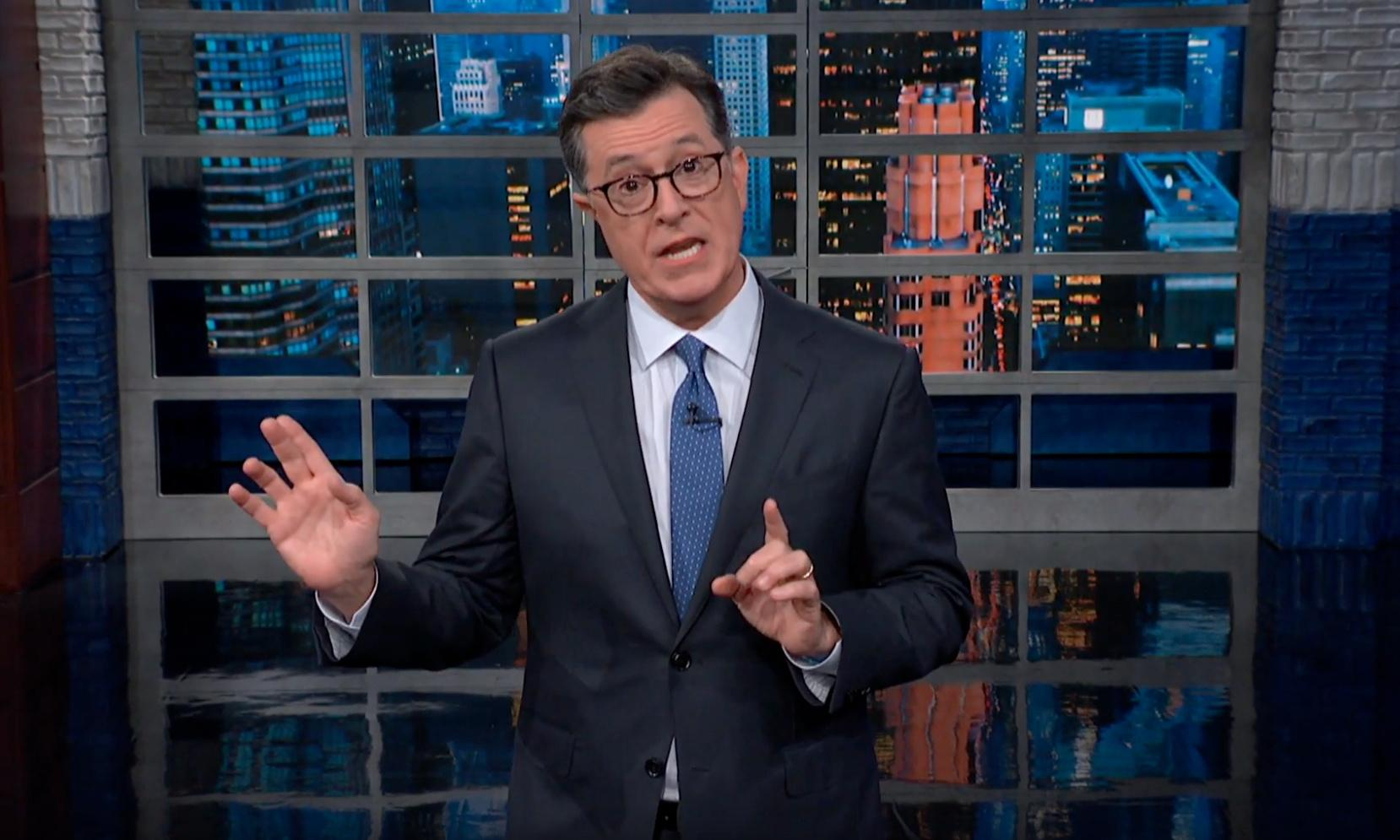 Stephen Colbert on Trump: 'A farting gnat would be a better president'