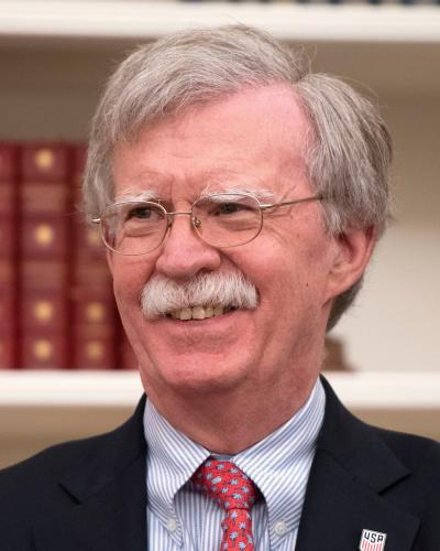 John Bolton threatens war crimes court with sanctions in virulent attack 'Cruel and vicious': Palestinian officials condemn Trump's closure of DC office