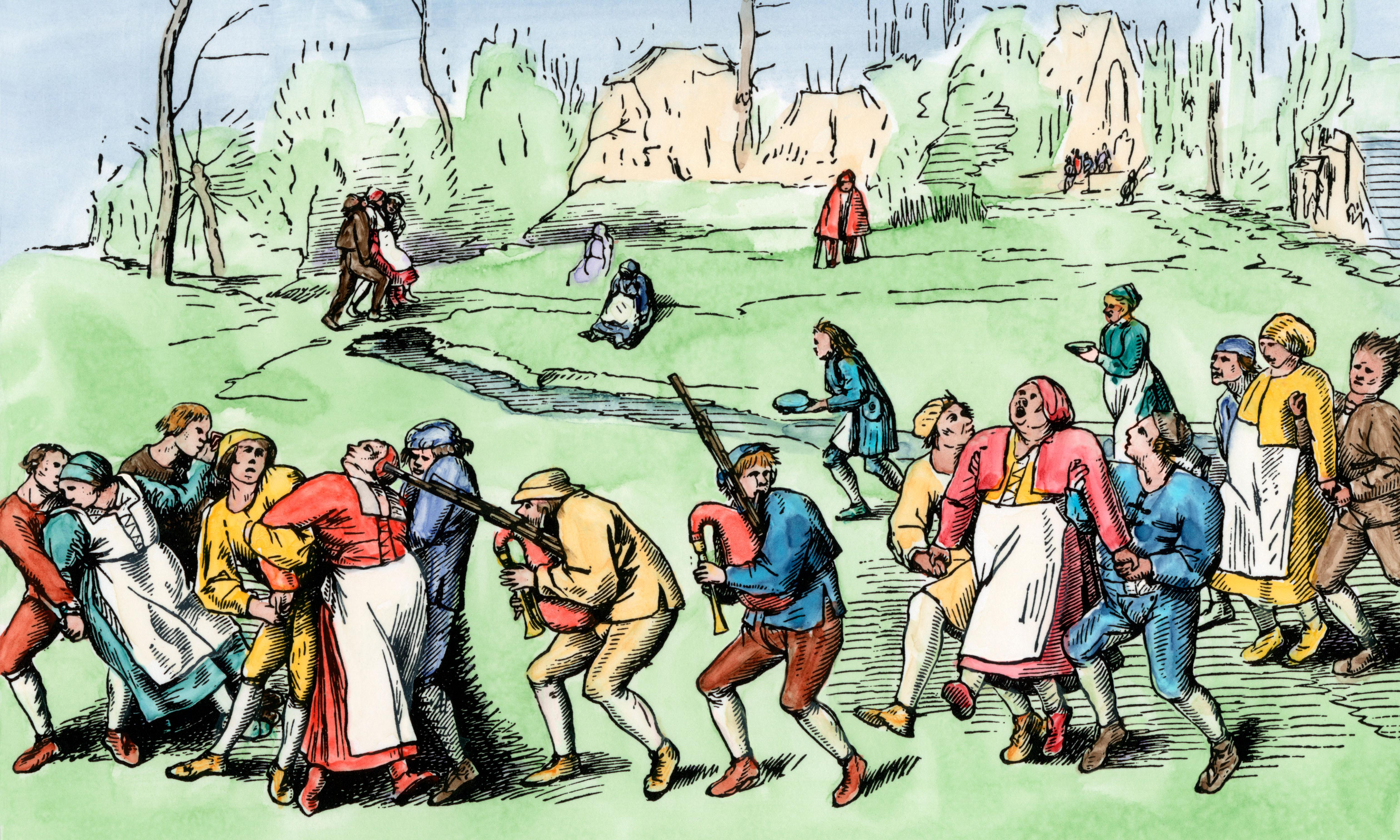 Keep on moving: the bizarre dance epidemic of summer 1518