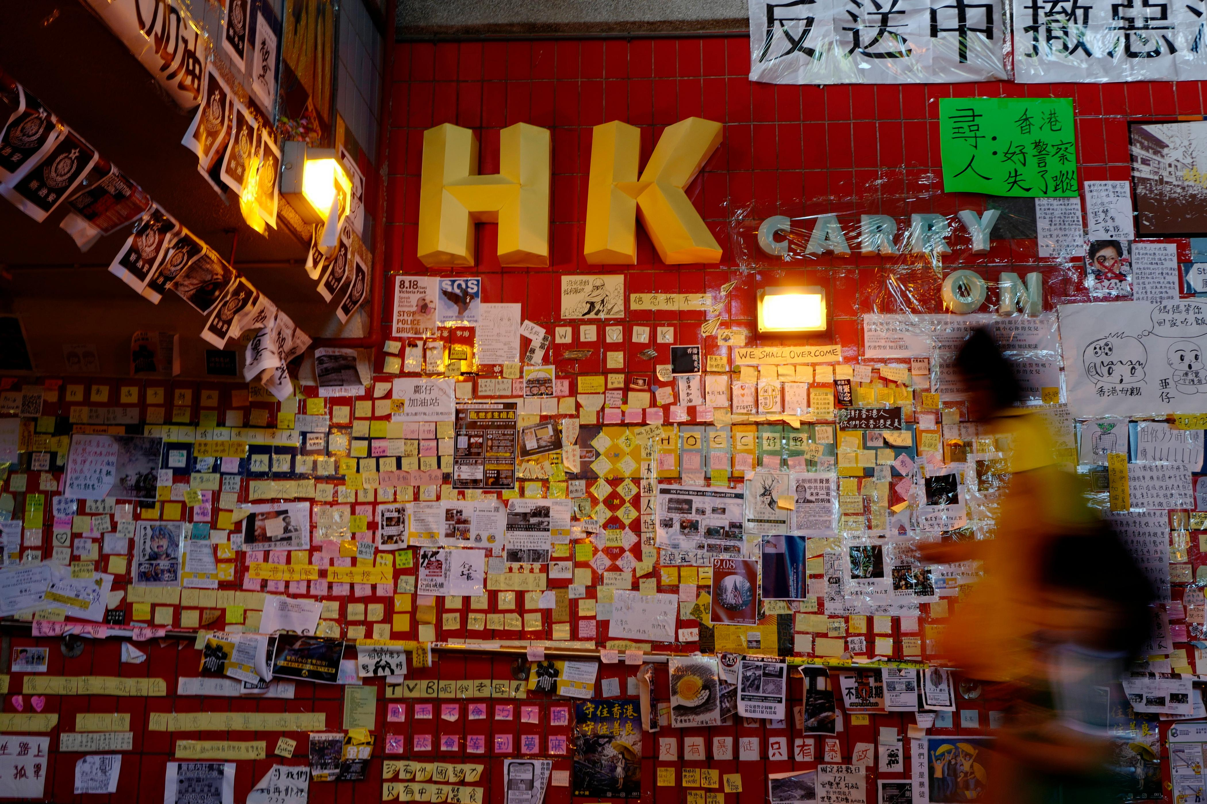 From loo roll to dumplings: Hong Kong protesters weaponise purchasing power