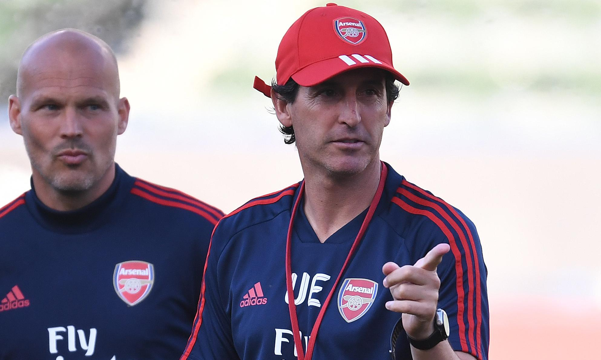 Unai Emery confident Arsenal will soon have 'three or four' new players