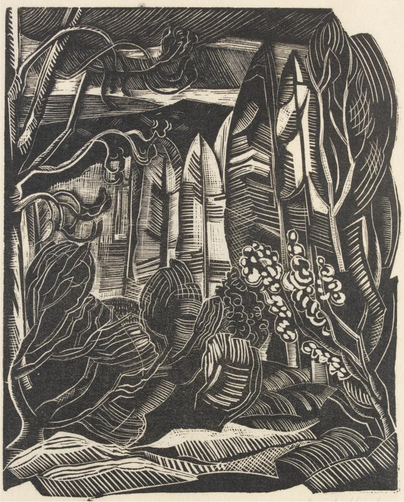 Paul Nash's Winter (circa 1922)