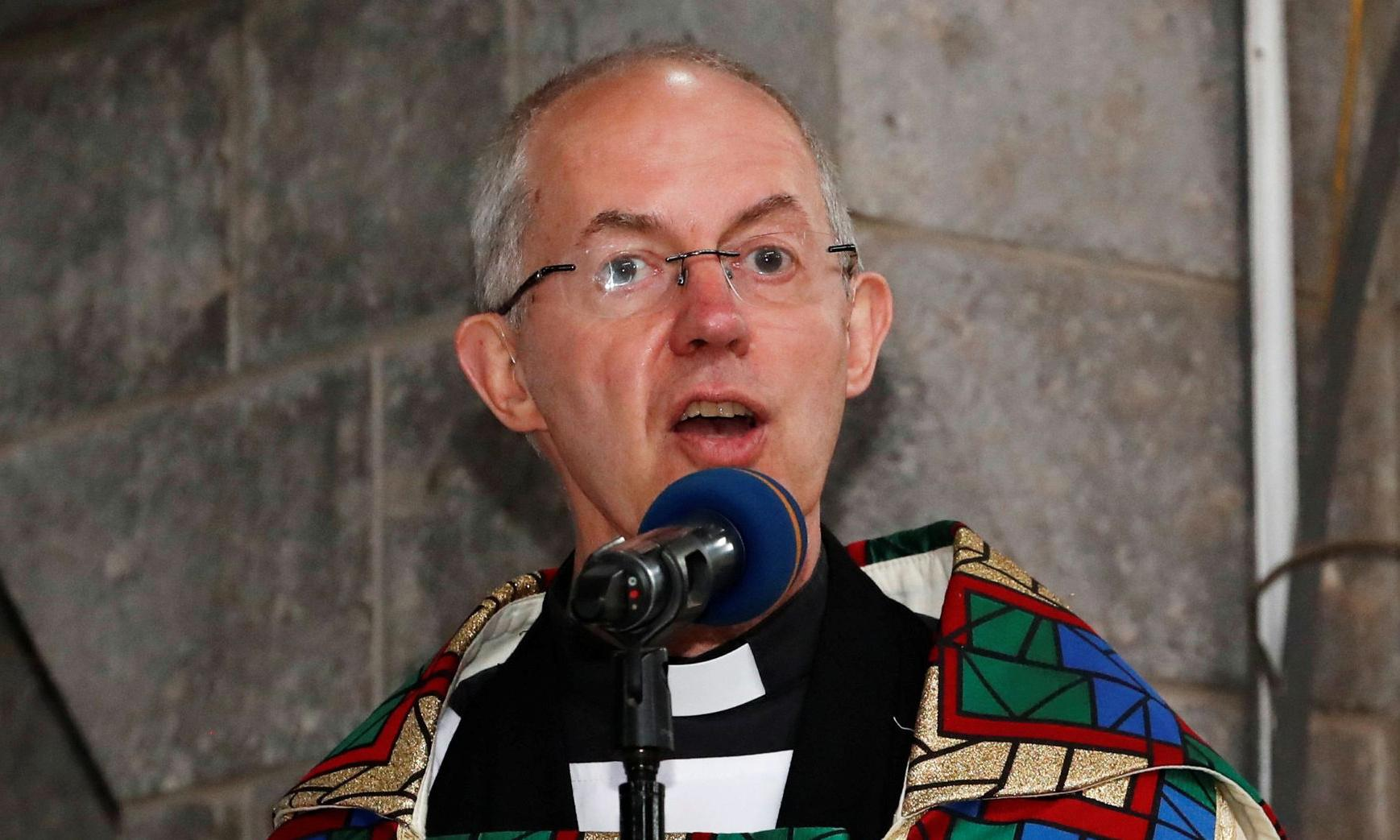 Justin Welby says he is 'sorry and ashamed' over church's racism