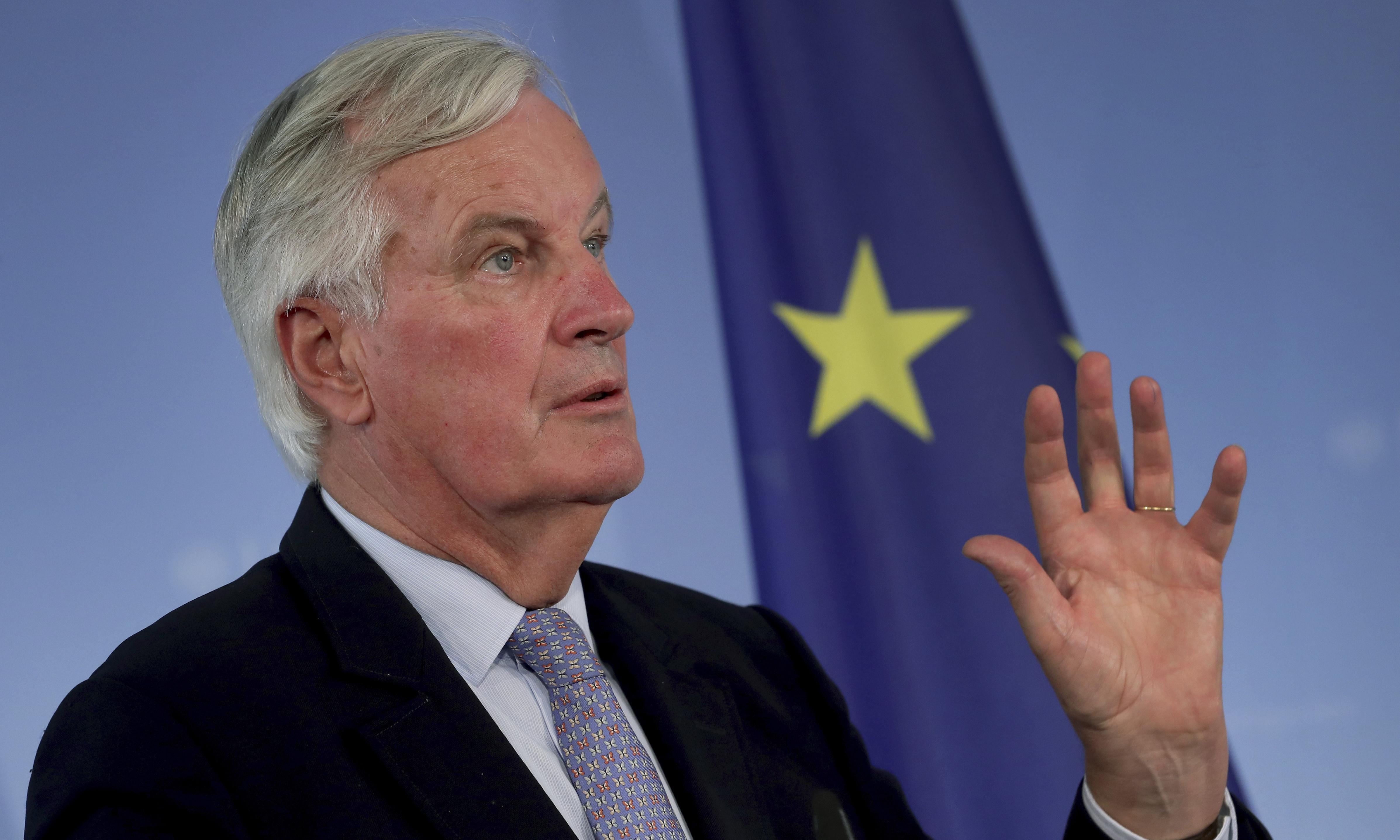 Michel Barnier rejects UK call for Canada-style trade deal