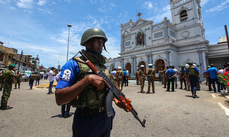 Five British citizens killed in Sri Lankan bombings