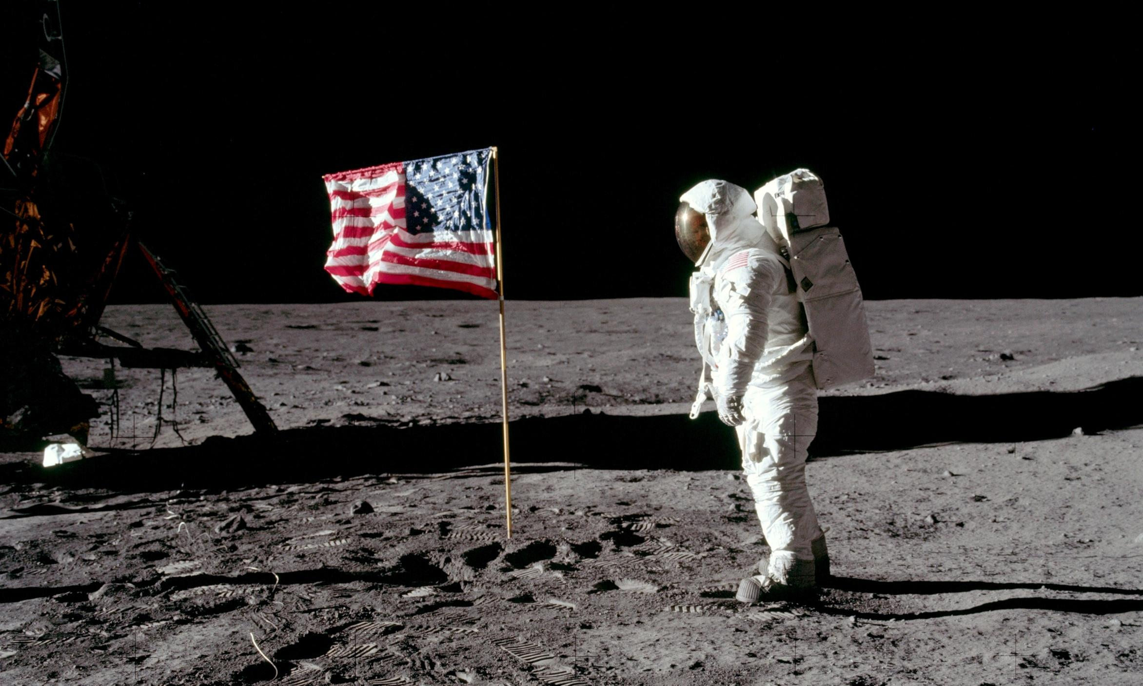 The Apollo 11 moon landing was a distraction from America's problems