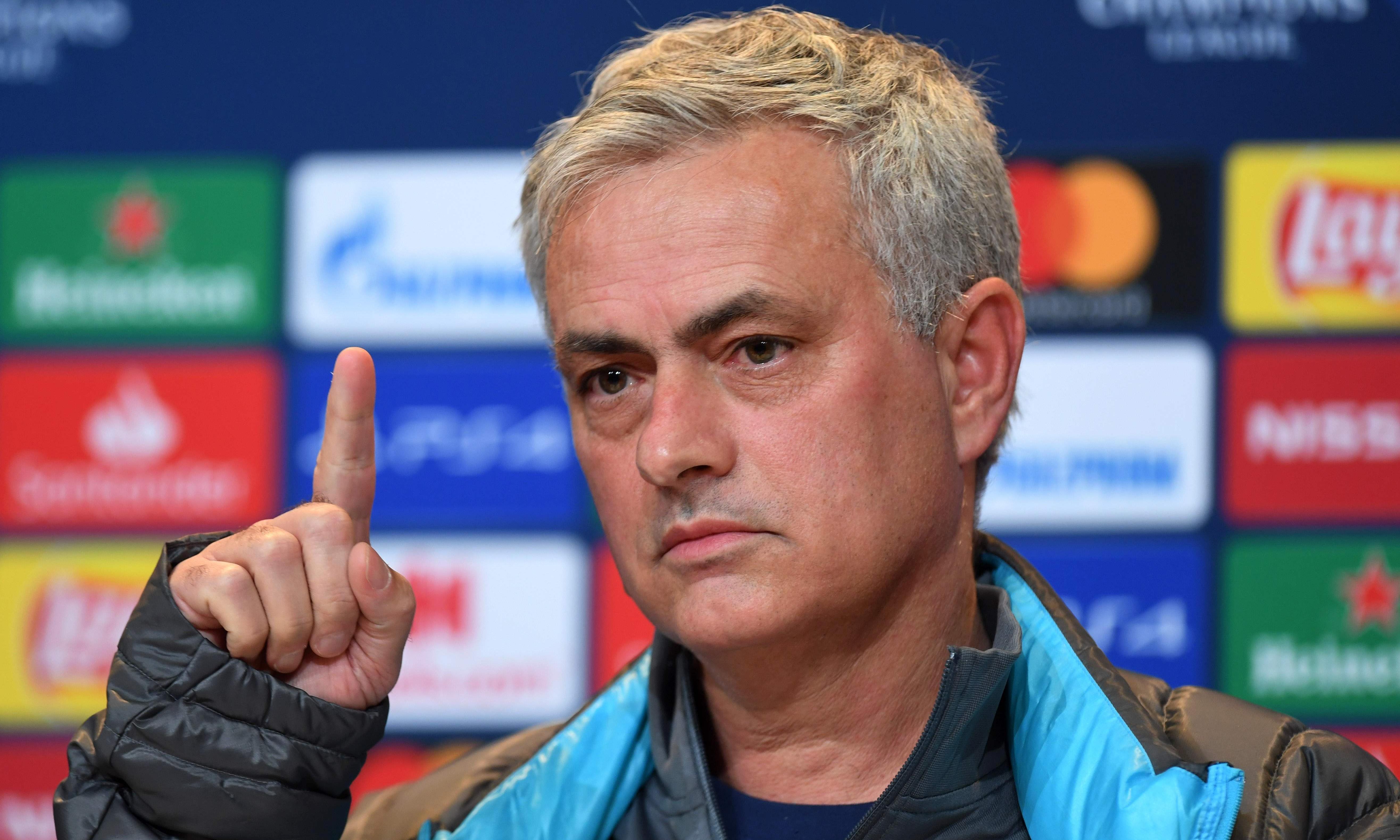 José Mourinho forbids Tottenham's players from watching 7-2 Bayern thrashing