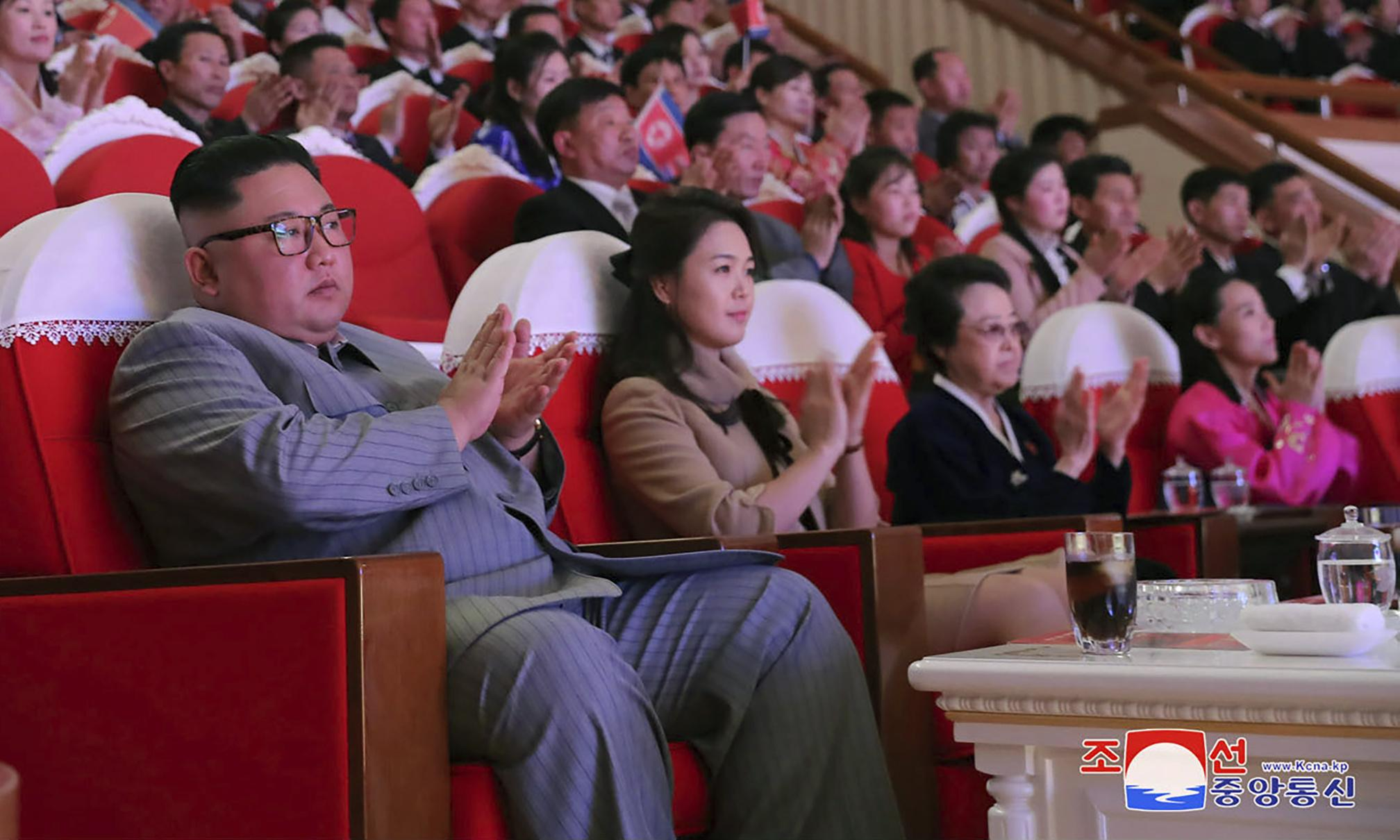 Kim Jong-un's aunt reappears, six years after purge rumours