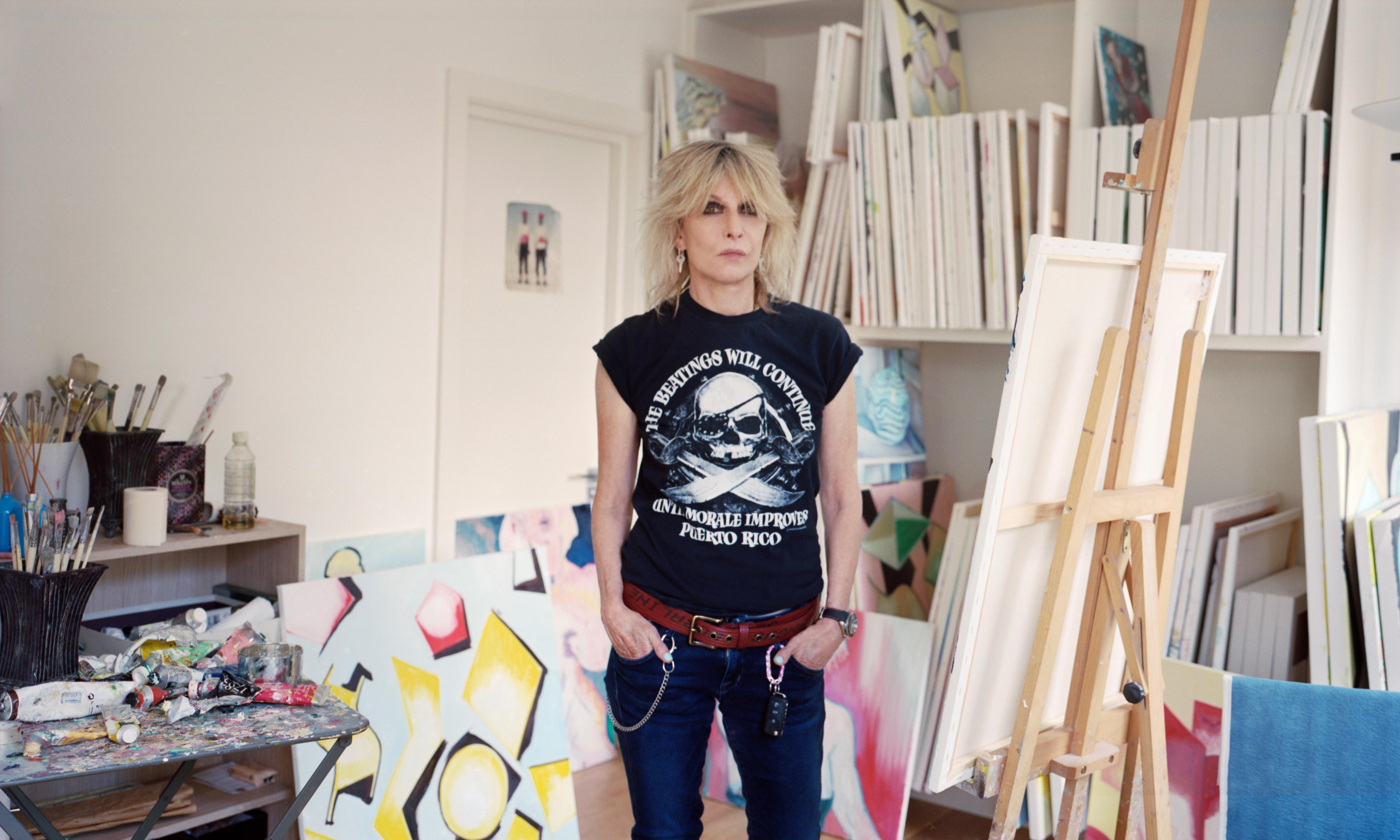 Chrissie Hynde: 'It's hard work being alone. Paintings are an outlet'