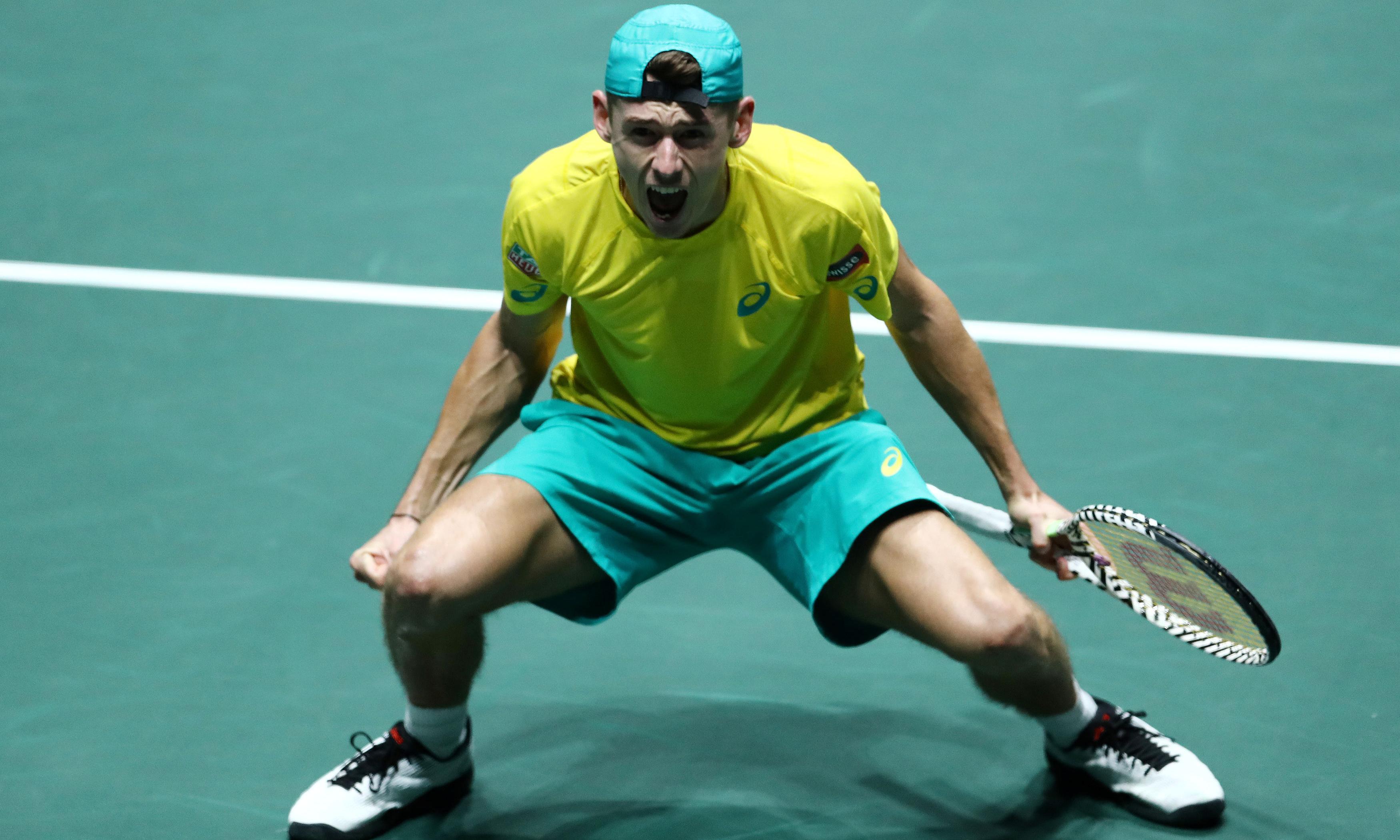 Alex de Minaur and Nick Kyrgios guide Australia into Davis Cup quarter-finals