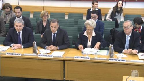 Mark Carney facing MPs