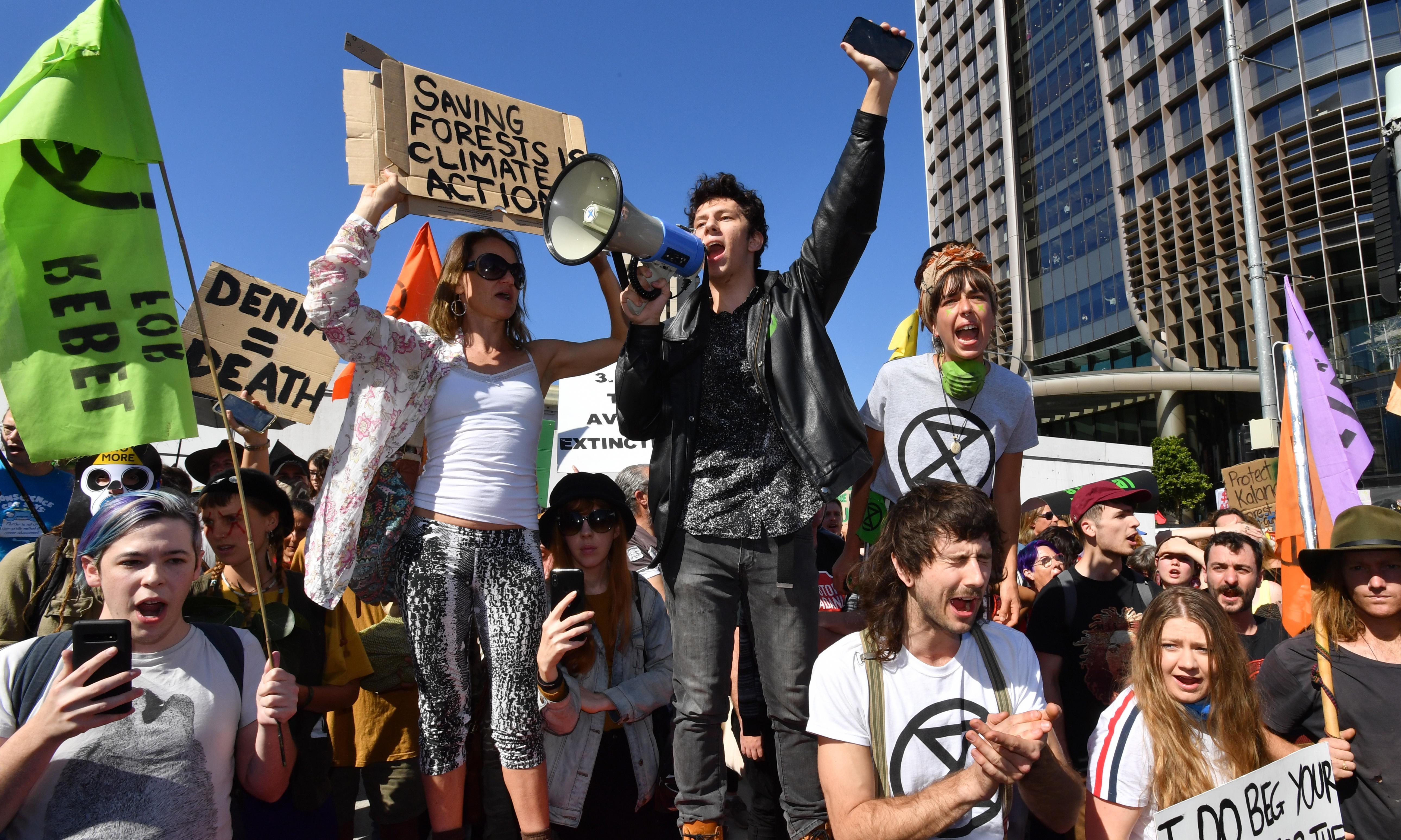 Extinction Rebellion: hitting a nerve at Australia's climate flashpoint