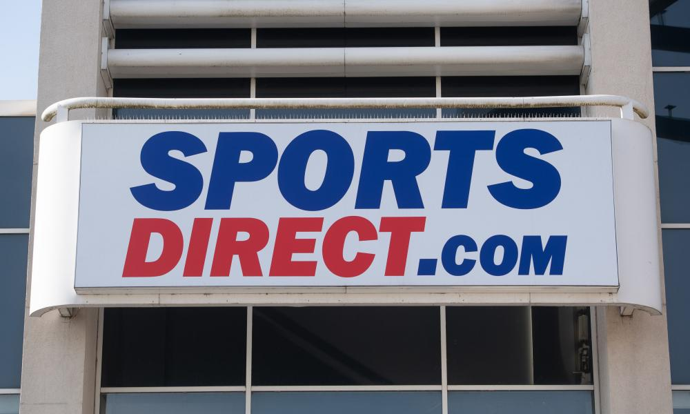 A Sports Direct store in Leicester.