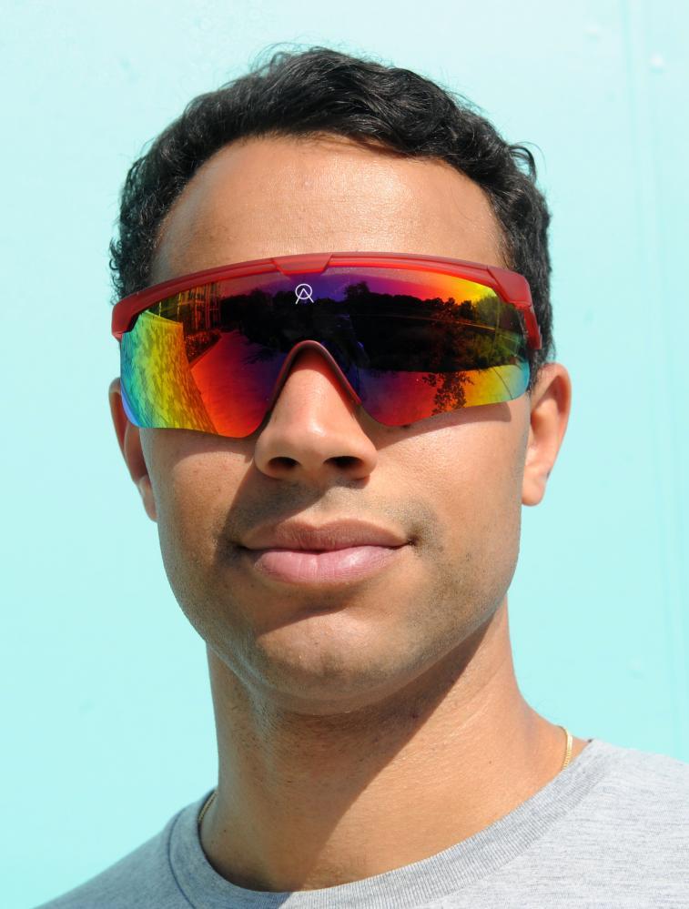 Guardian journalist Lanre Bakare wears Alba Optics Delta shades, £150