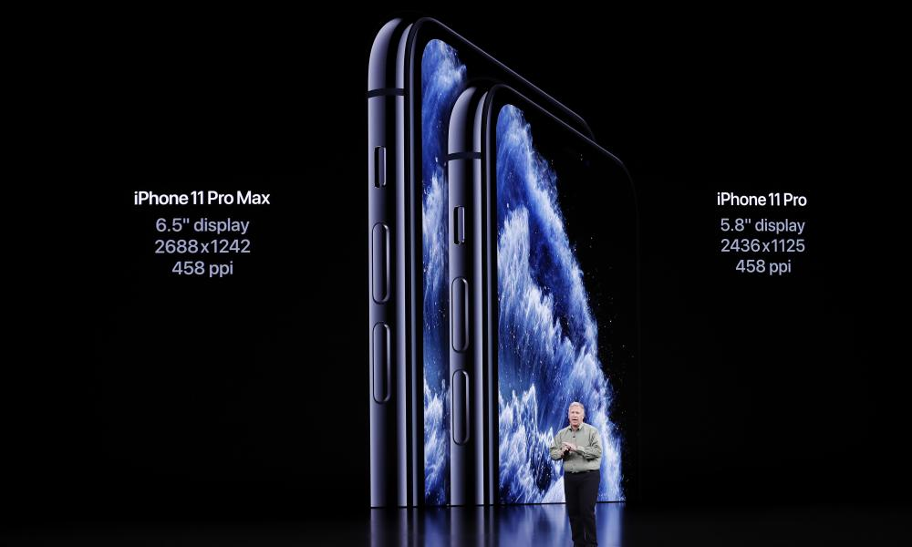 ה iPhone 11 Pro and Pro Max are Apple's new creative-aimed phones.