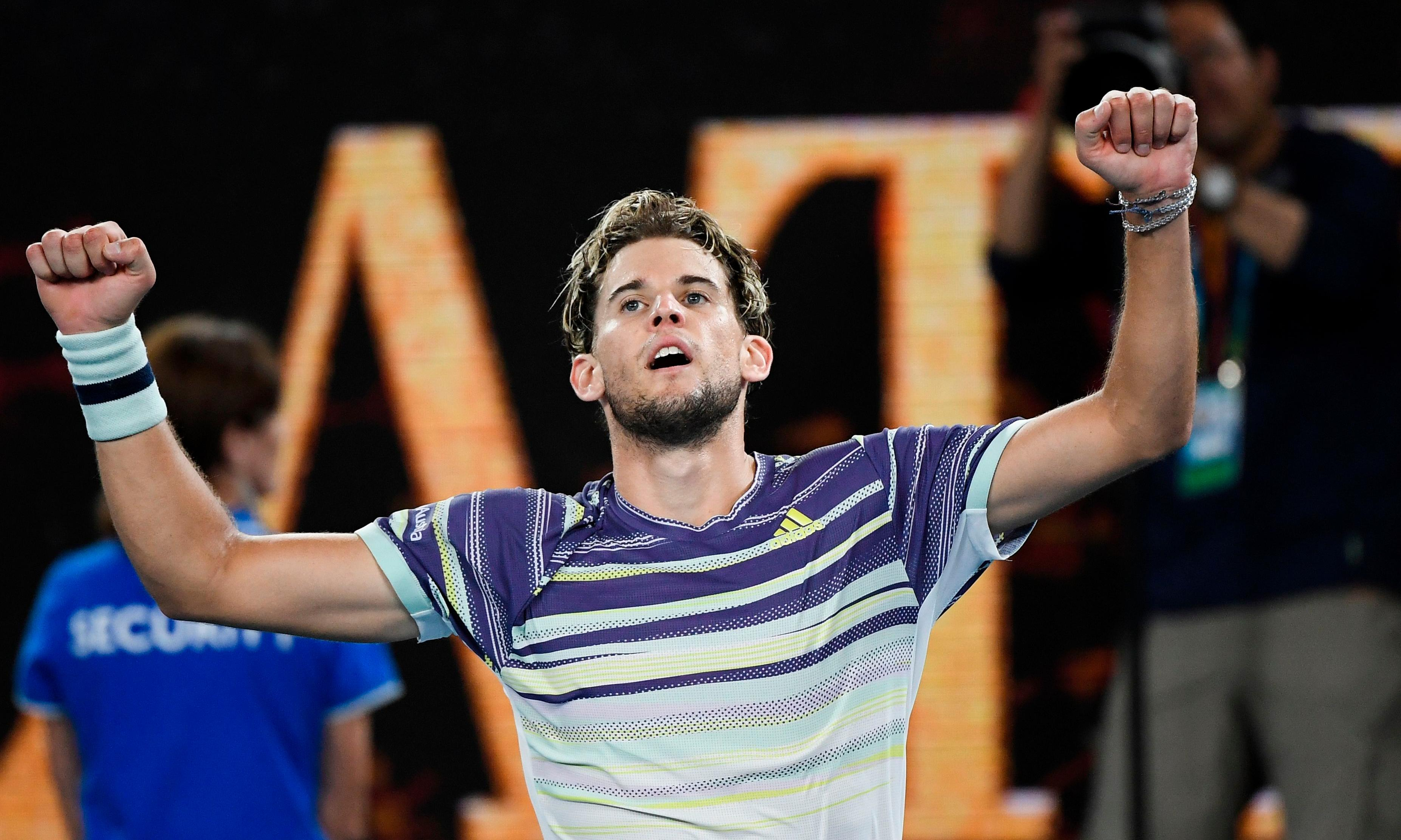 Dominic Thiem beats Zverev to set up Djokovic clash in Australian Open final