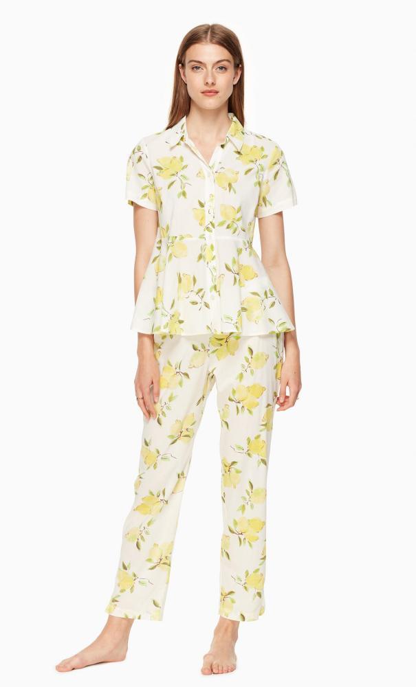 Kate Spade's Lemon Pajamas