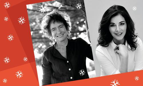 Nigella Lawson and Jeanette Winterson
