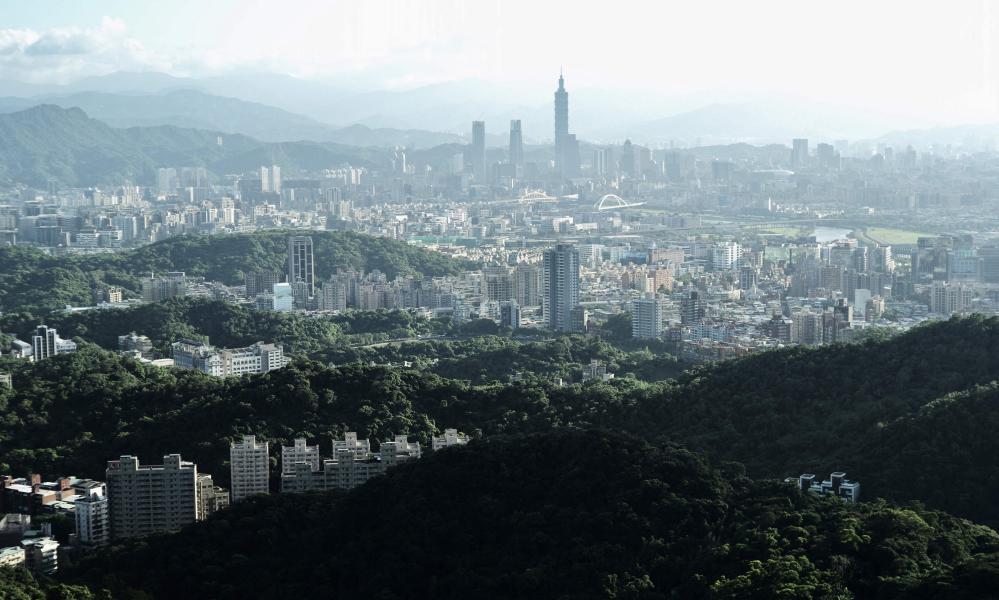 The capital Taipei