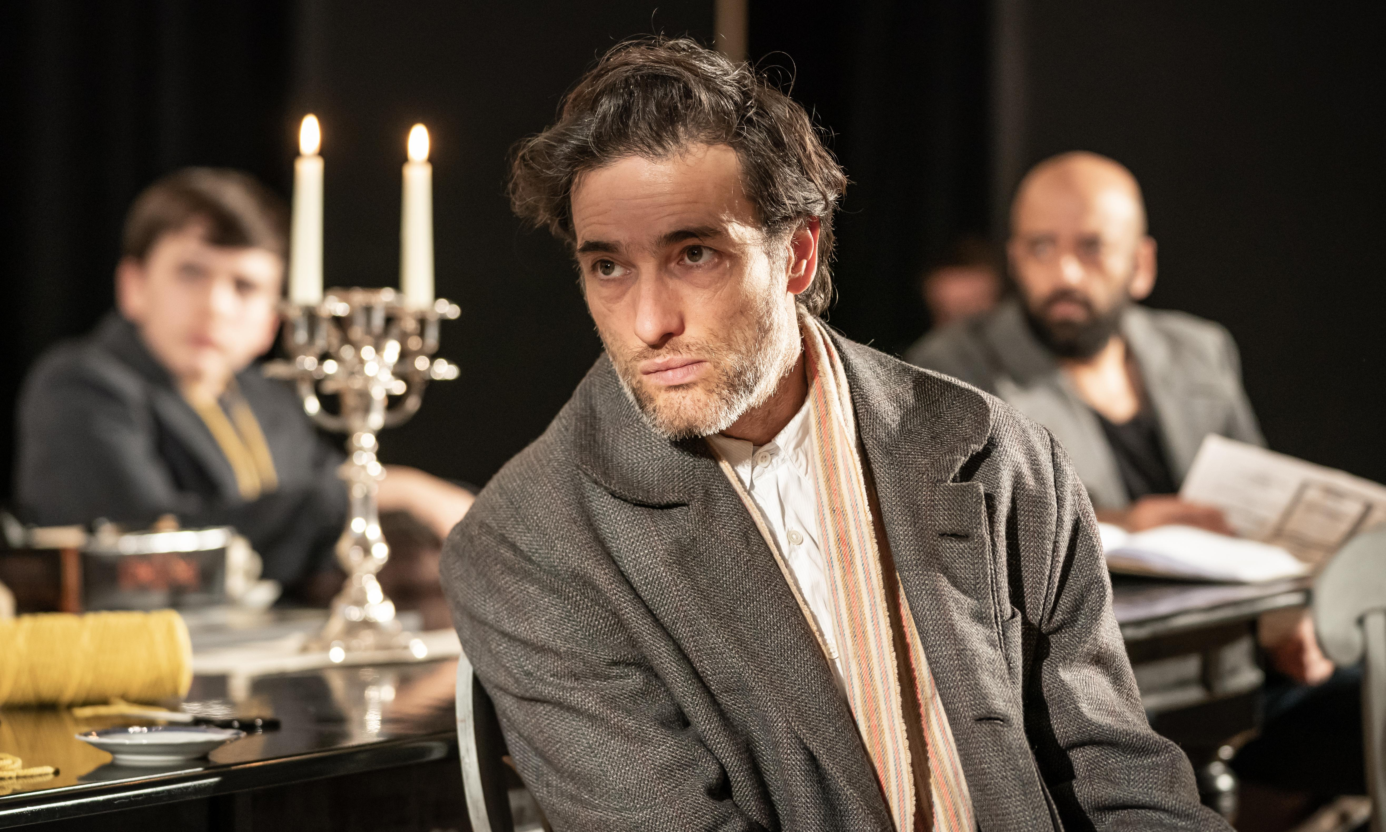 'My surname was an albatross': Ed Stoppard on starring in his dad's new play