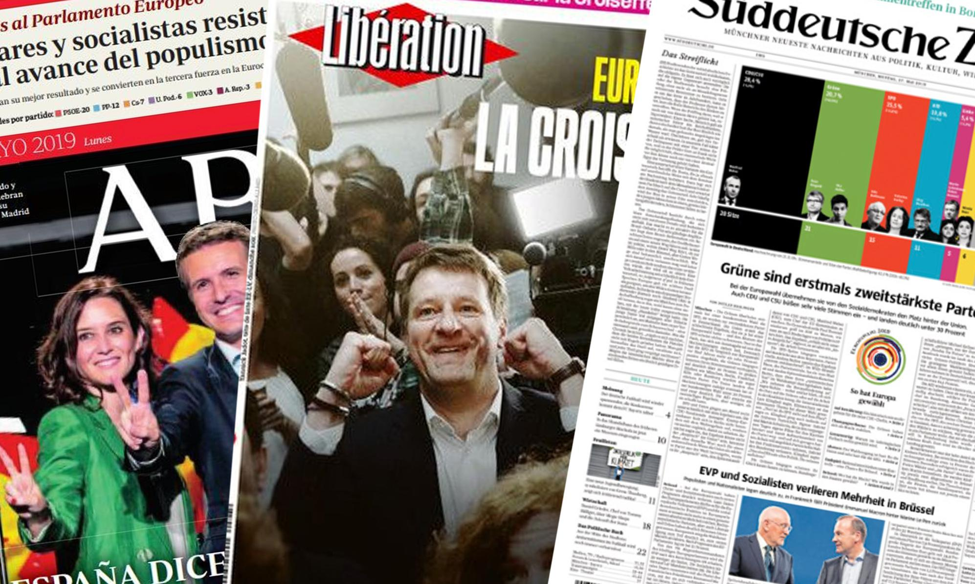 'Troubled times': what European papers say about the election results